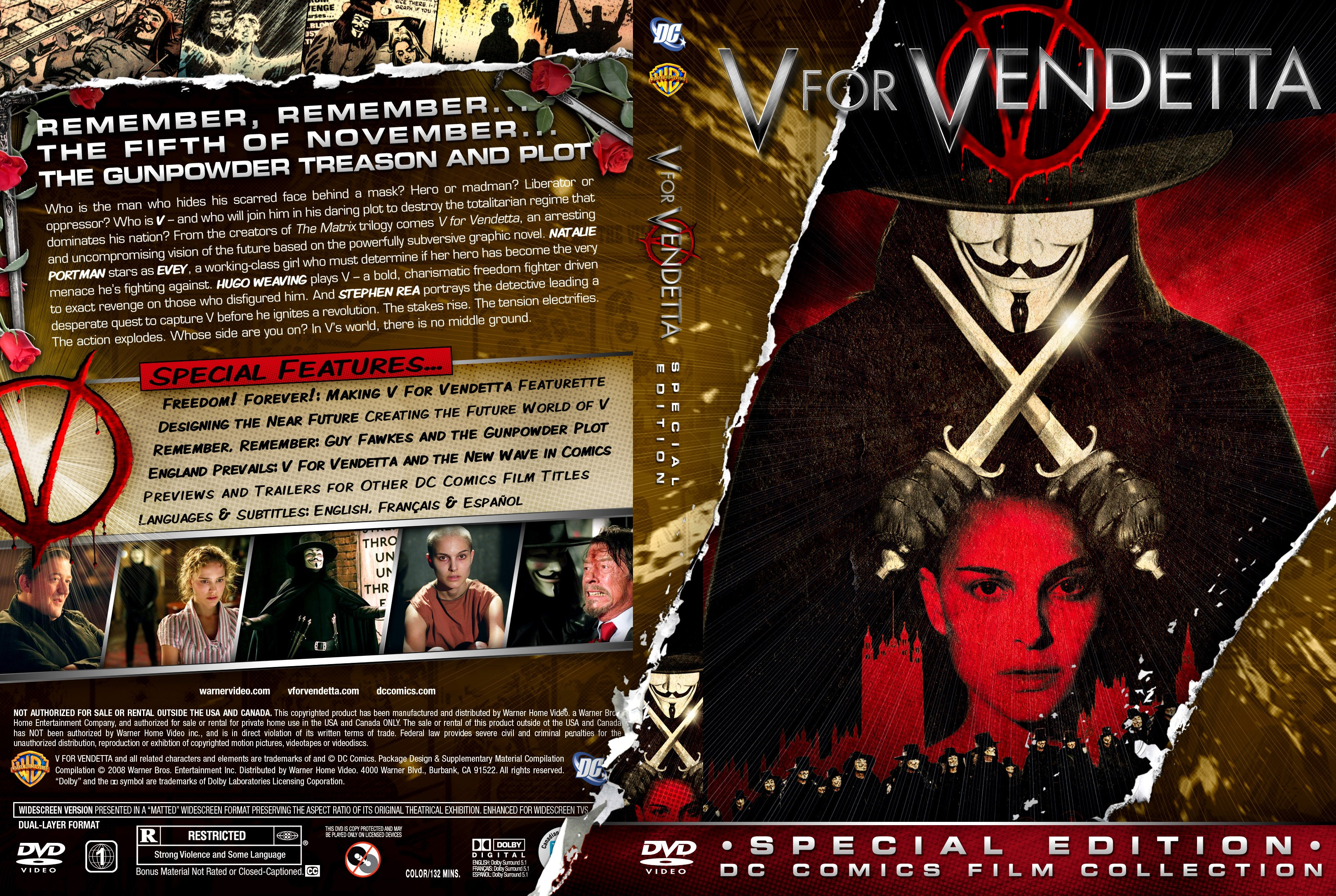 MovieV For Vendetta Facebook Cover  Cover Abyss