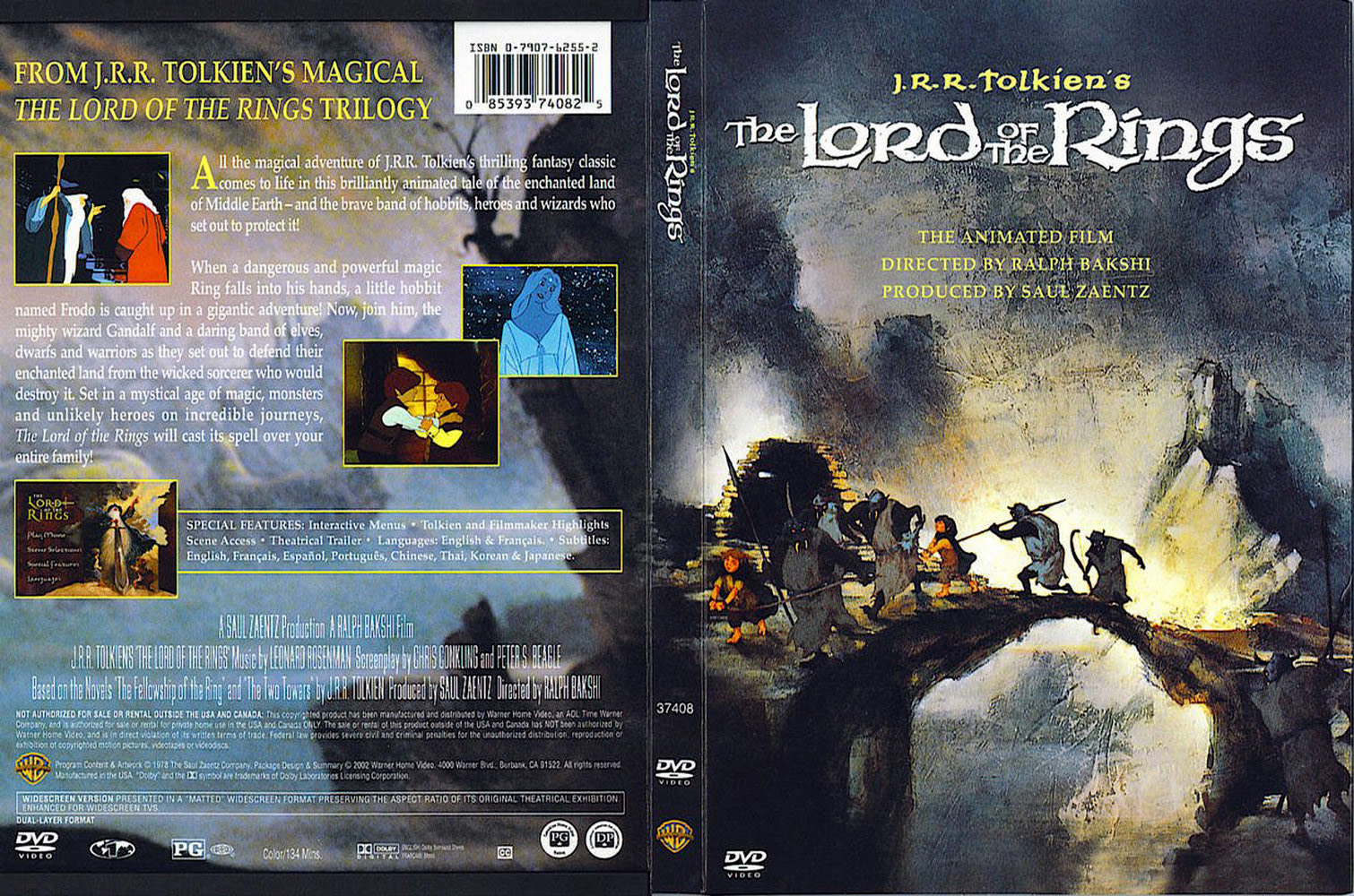 Lord Of The Rings Animated Full Movie