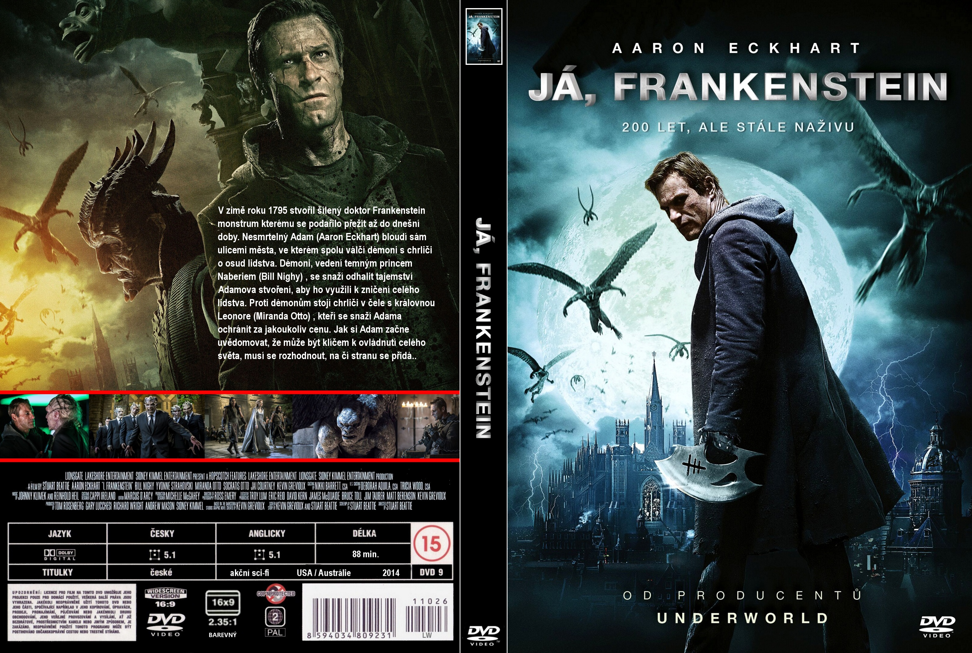 covers.box.sk ::: i, frankenstein (2014) - high quality dvd