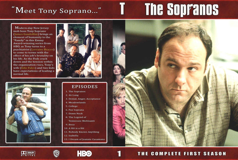 COVERS BOX SK ::: The Sopranos - season 1 - high quality DVD