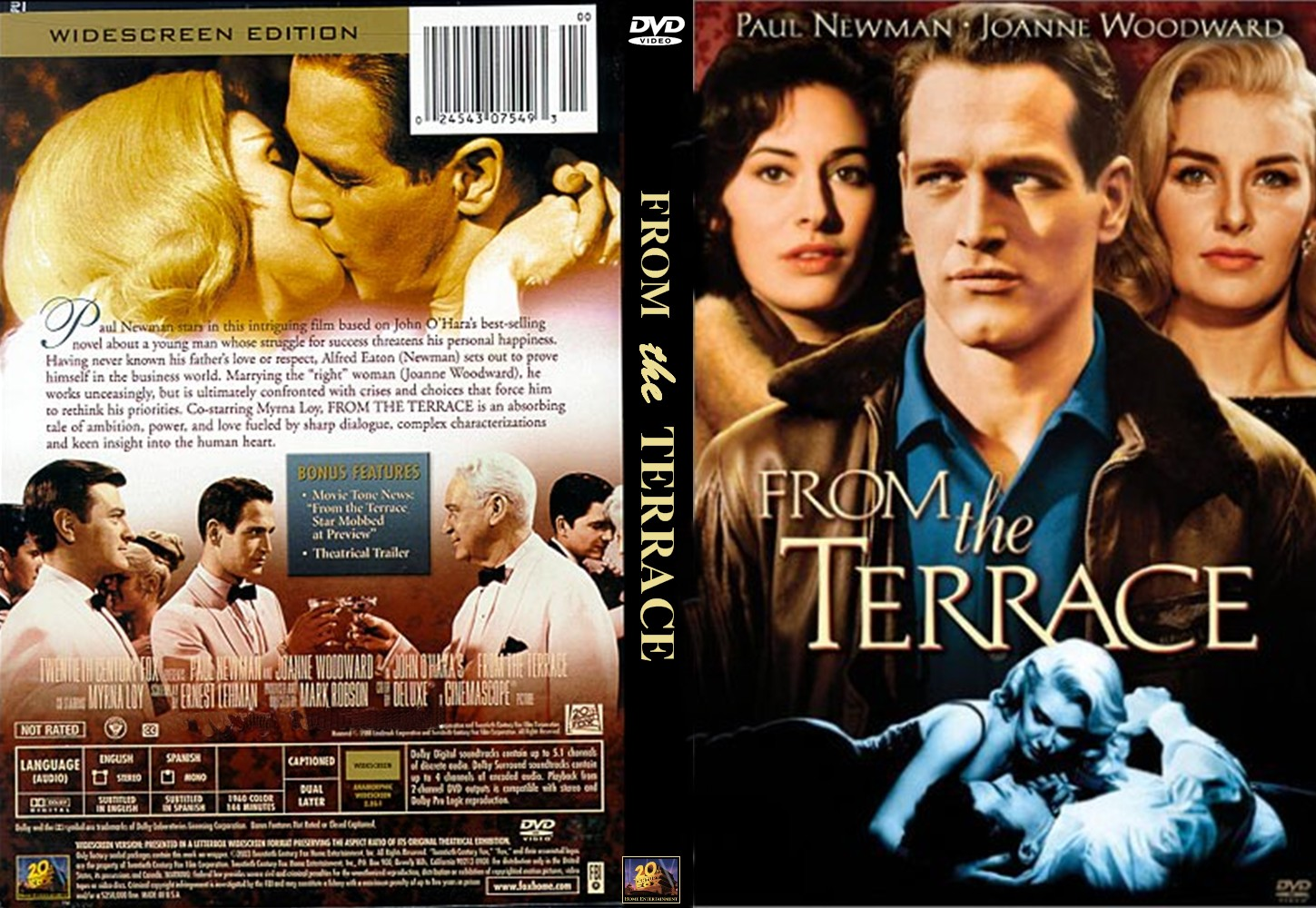 Covers box sk from the terrace 1960 high quality for Movies at the terrace