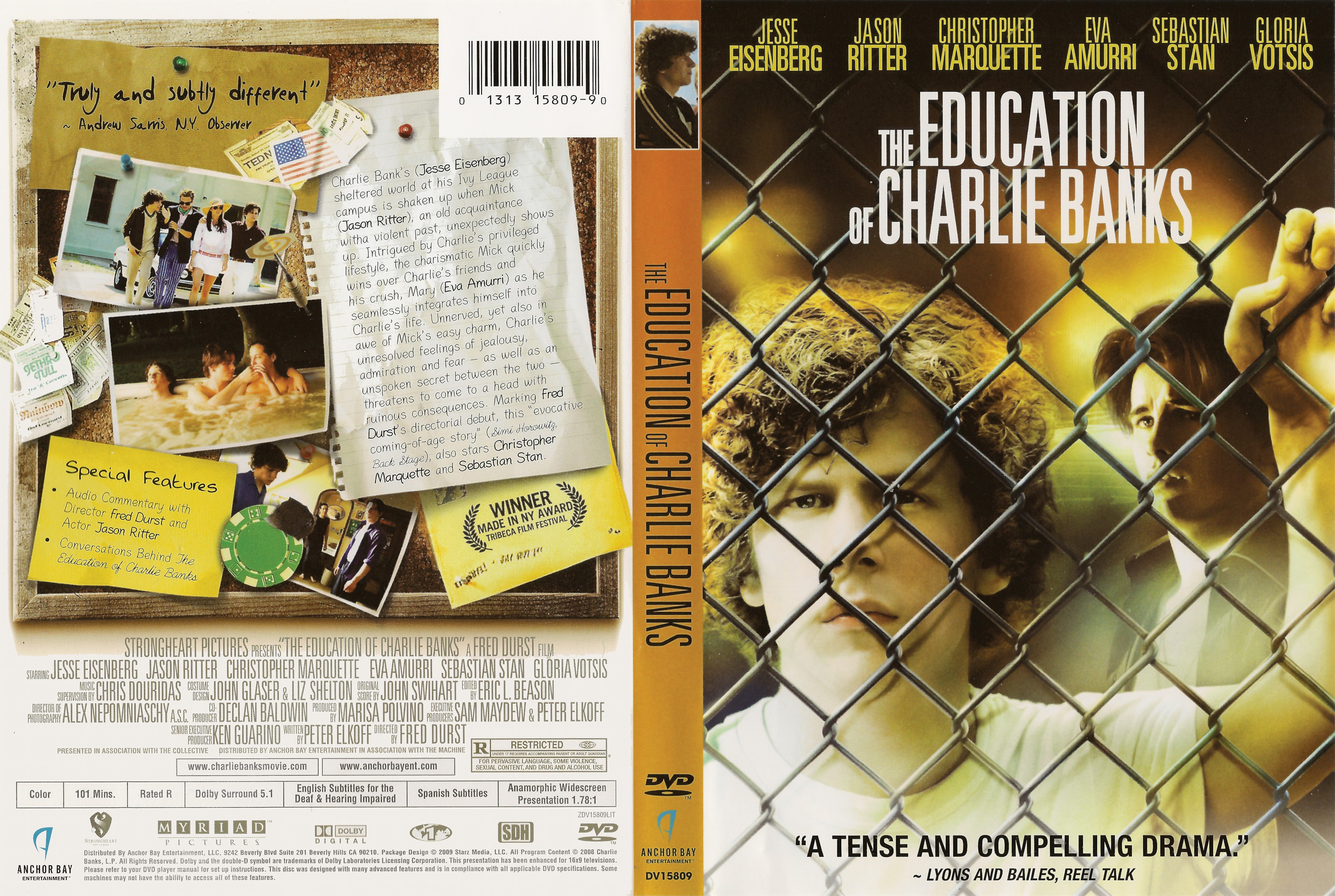 the journey to maturation of charlie in the education of charlie banks