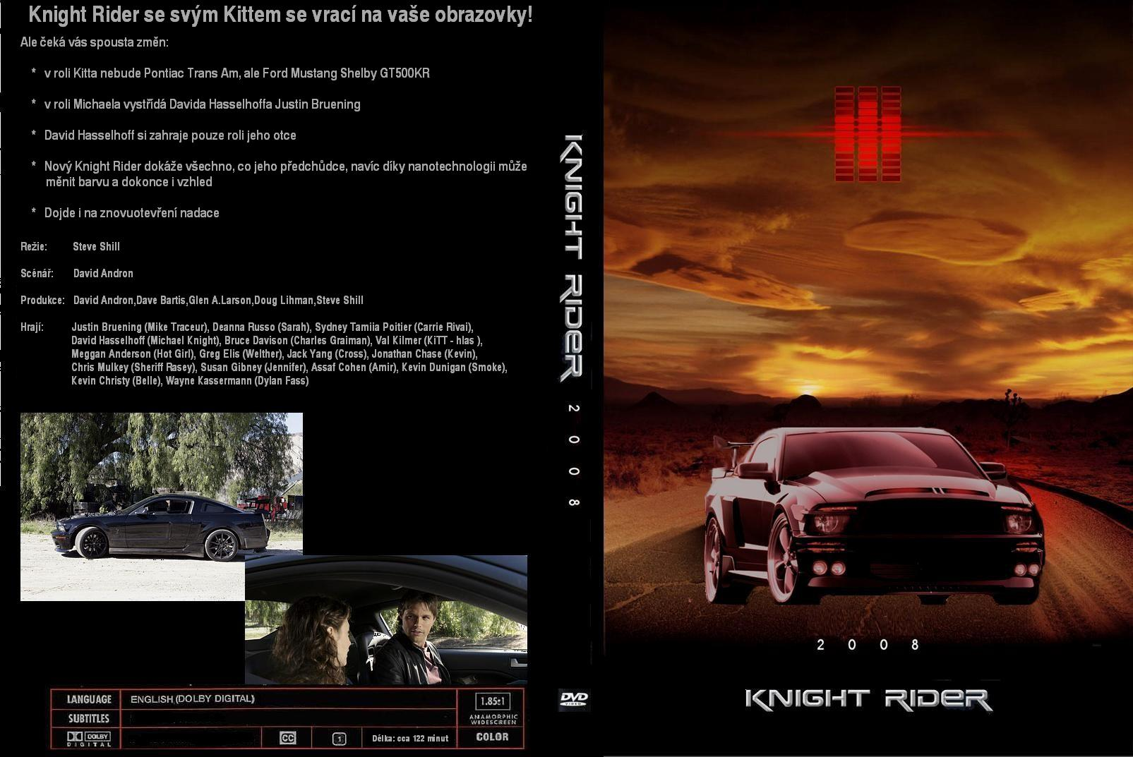 COVERS BOX SK ::: Knight Rider (2008/TV movie) - high