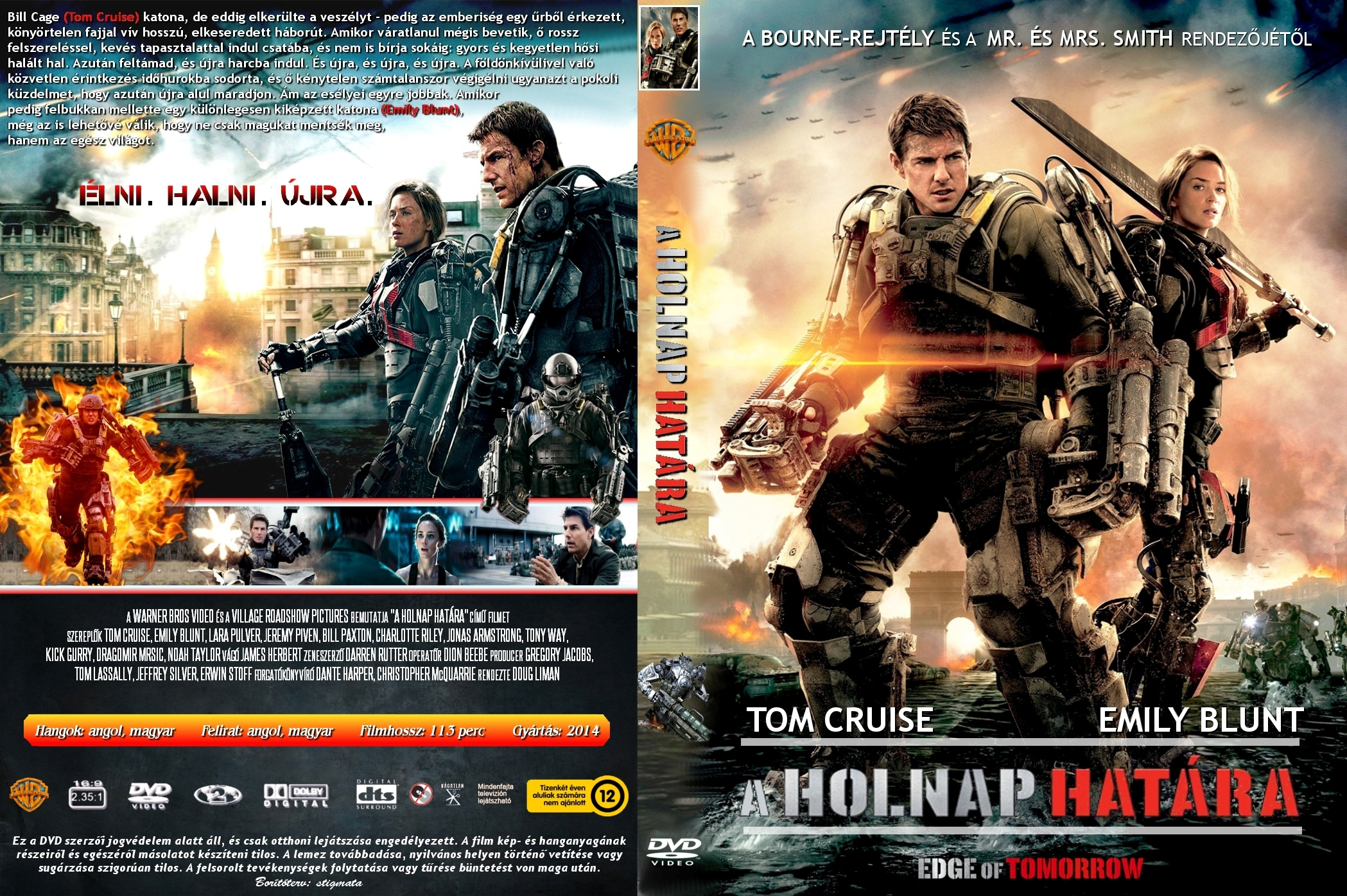 Cover has been resized  Edge Of Tomorrow Cover