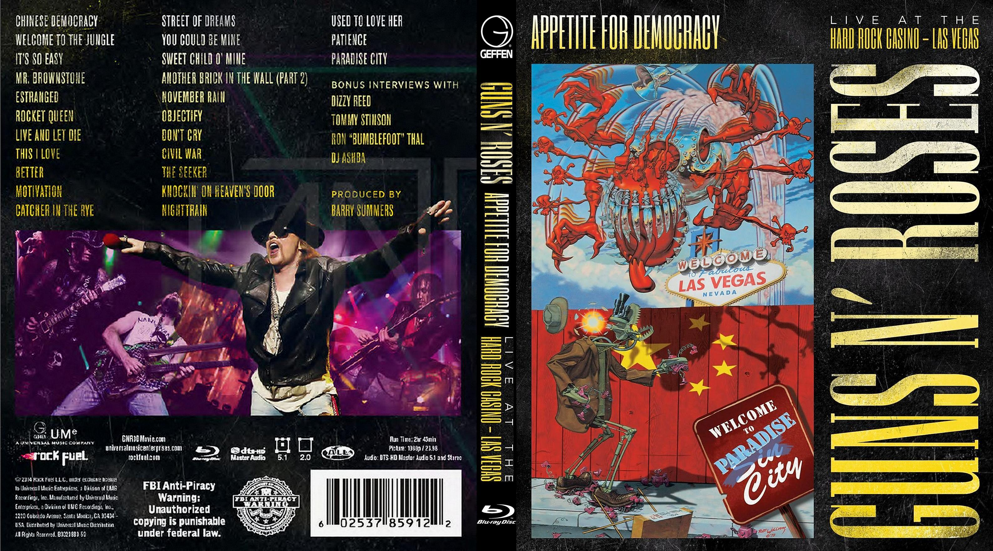 Appetite For Democracy Tour