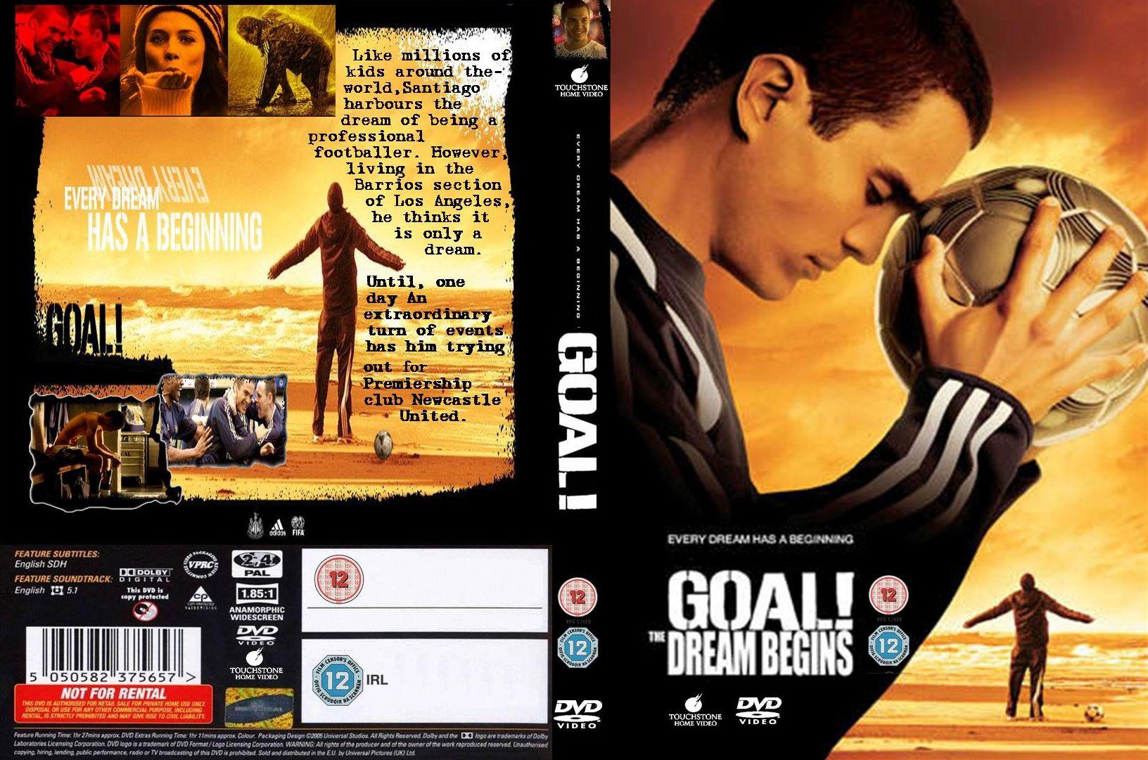COVERS BOX SK ::: Goal The Dream Begins (2005) - high