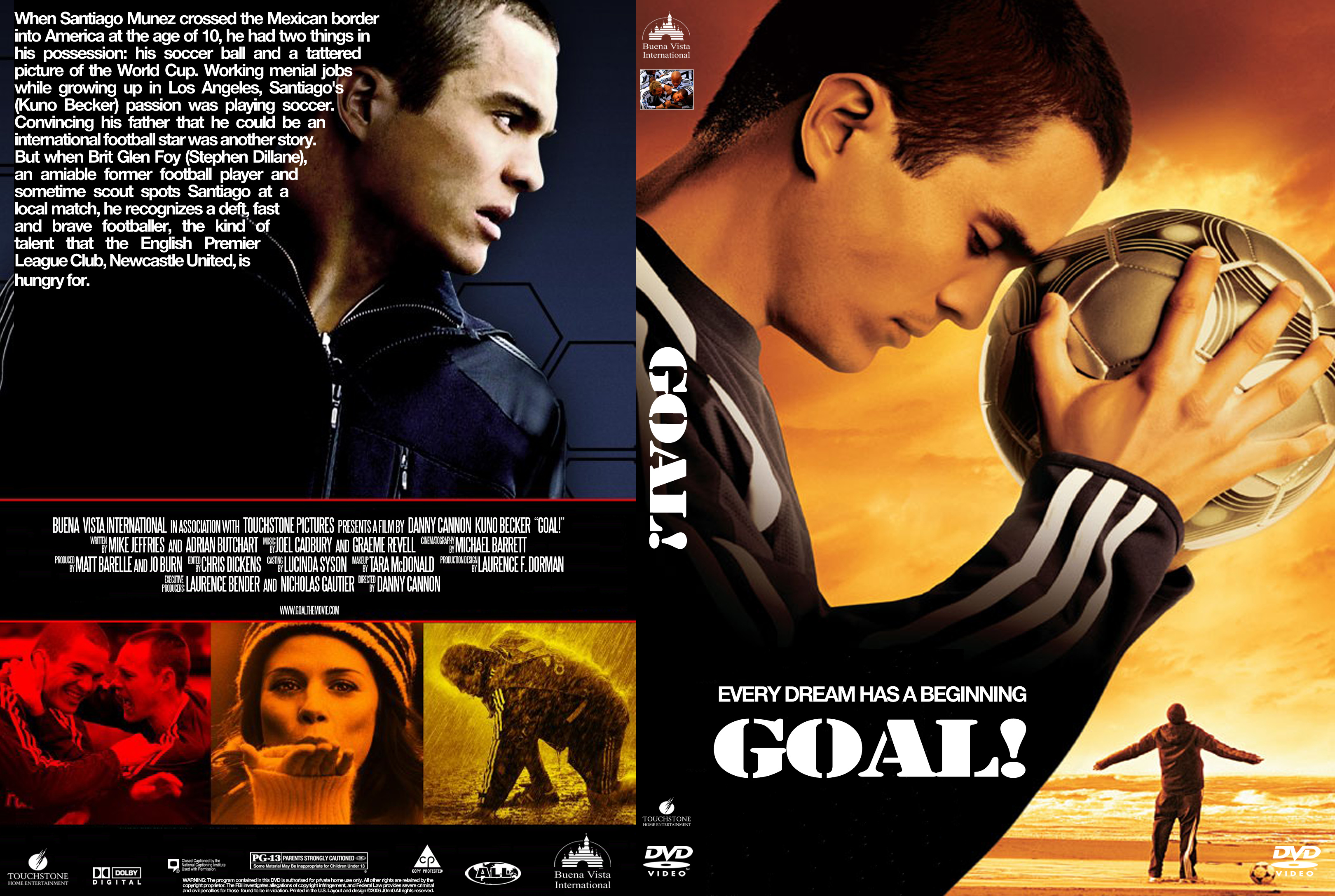 the goal movie the dream begins Goal the dream begins is a rags-to-riches sports saga containing all the usual elements, arranged in the usual ways, and yet it's surprisingly effective we have the kid from mexico who dreams of soccer stardom, his impoverished life in los angeles as an undocumented immigrant, his dad who scorns soccer, his grandmother who believes in him.