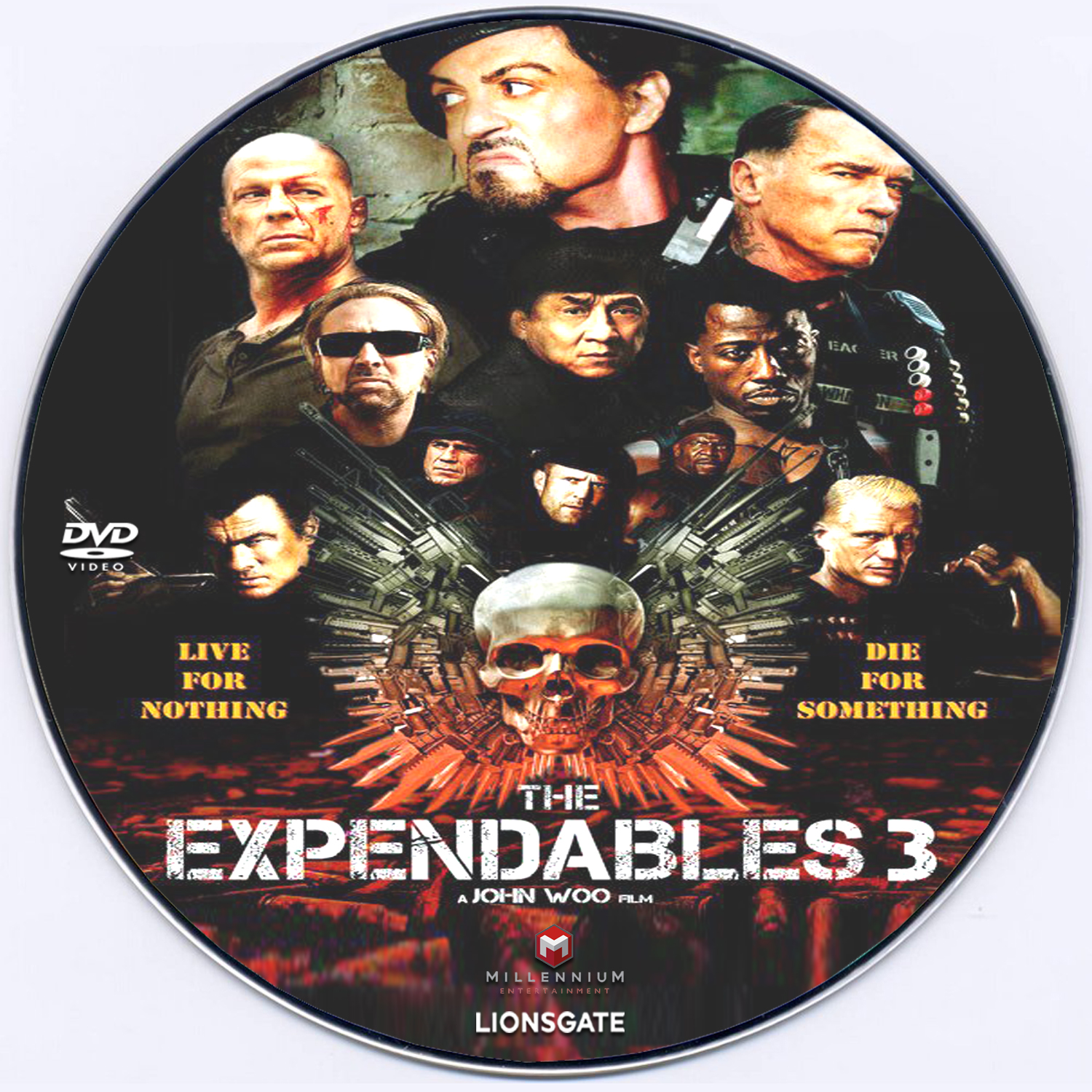expendables 3 dvd