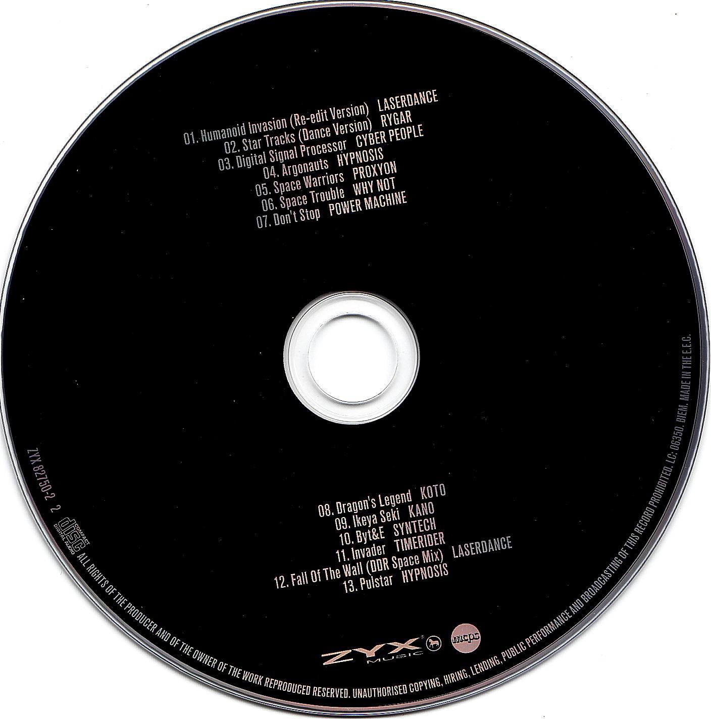 (Spacesynth) [CD] Laserdance