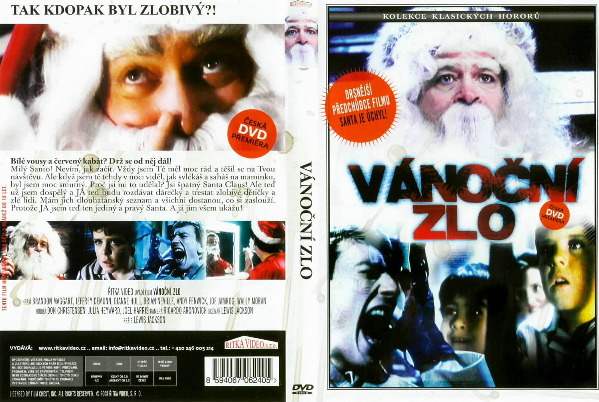 Christmas Evil 1980.Covers Box Sk Christmas Evil 1980 High Quality Dvd