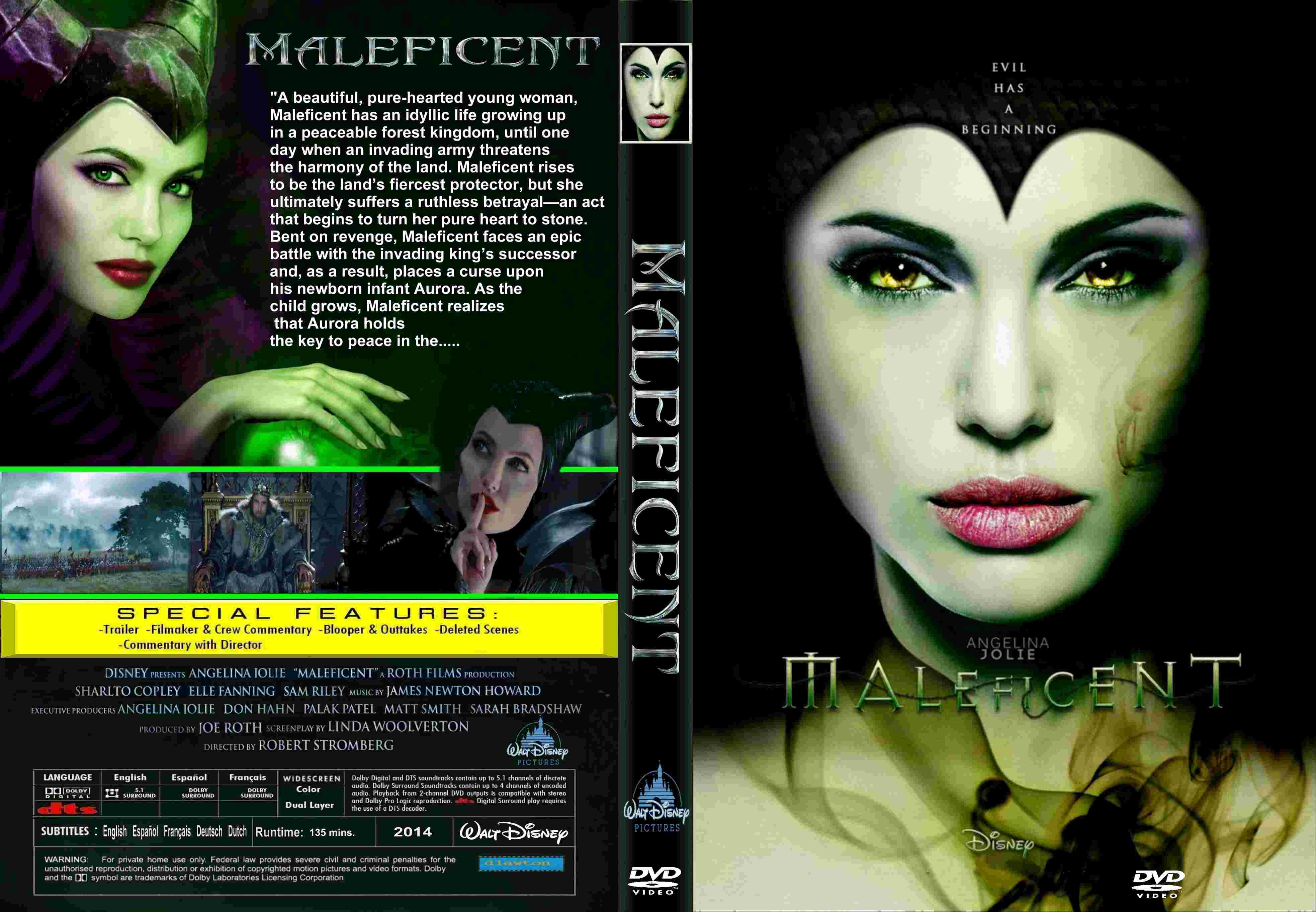 COVERS BOX SK ::: Maleficent (2014) - high quality DVD