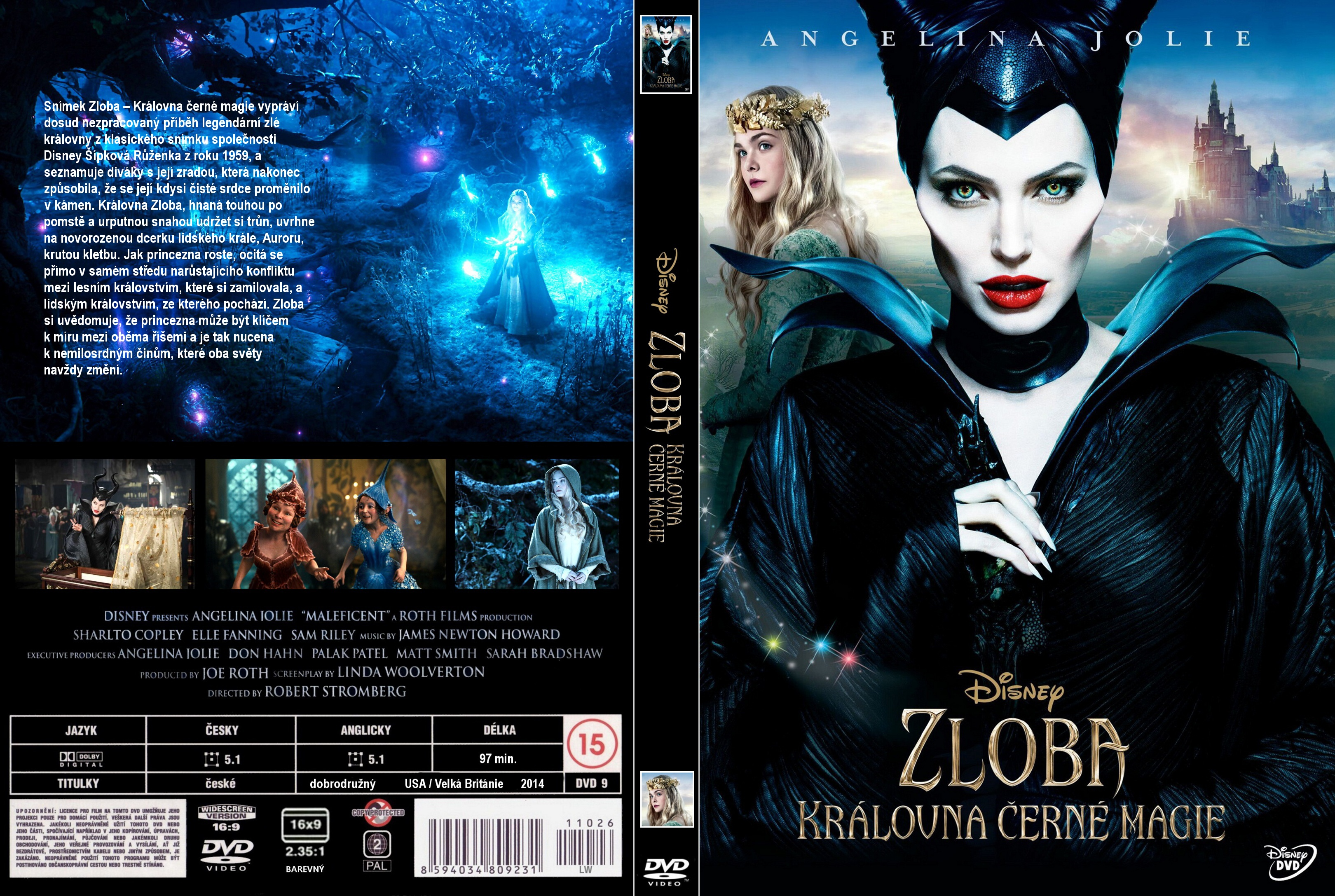 Covers Box Sk Maleficent 2014 High Quality Dvd