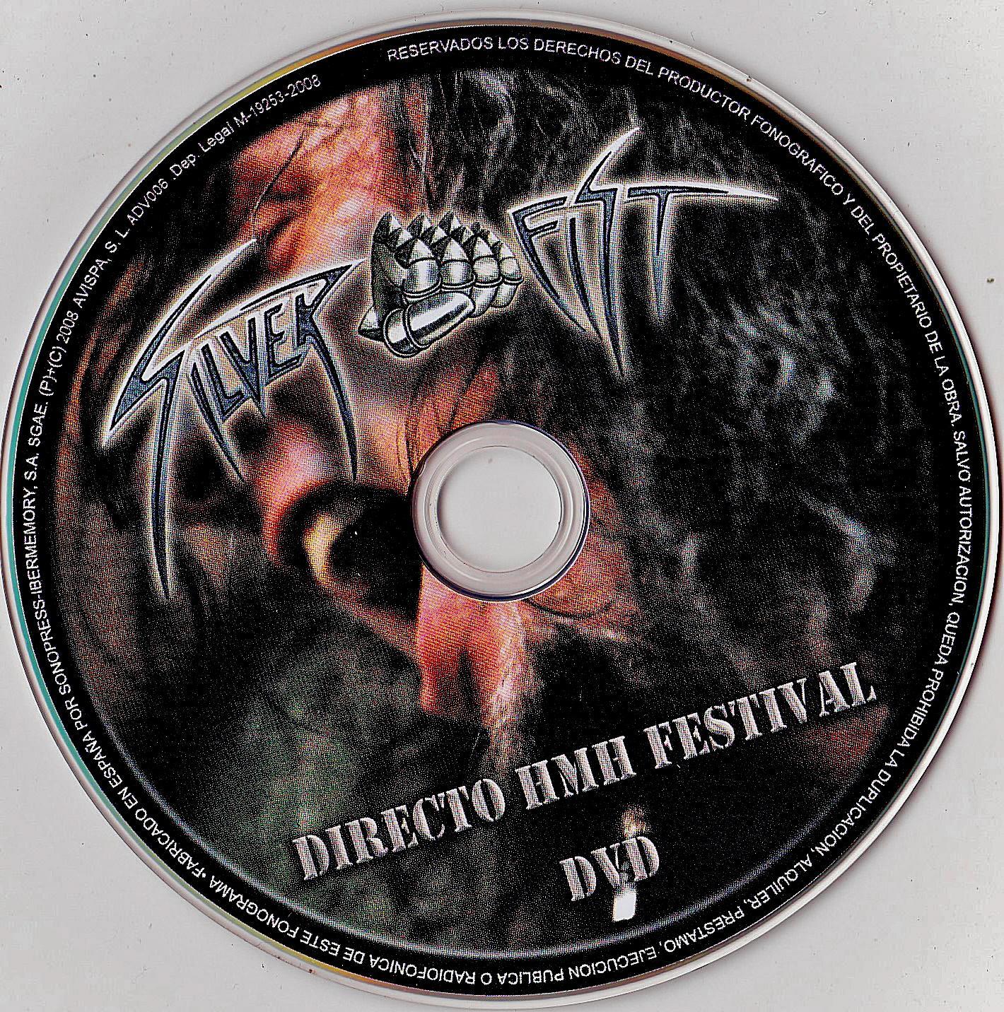 COVERS BOX SK ::: Silver Fist - Directo HMH Festival (2008) - high