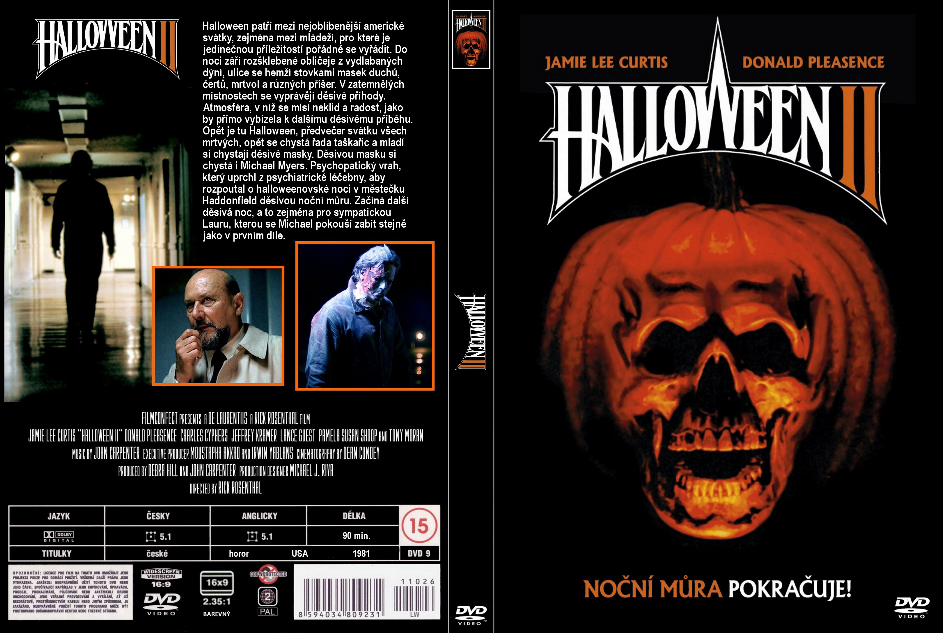 COVERS.BOX.SK ::: Halloween 2 (1981) - high quality DVD / Blueray ...