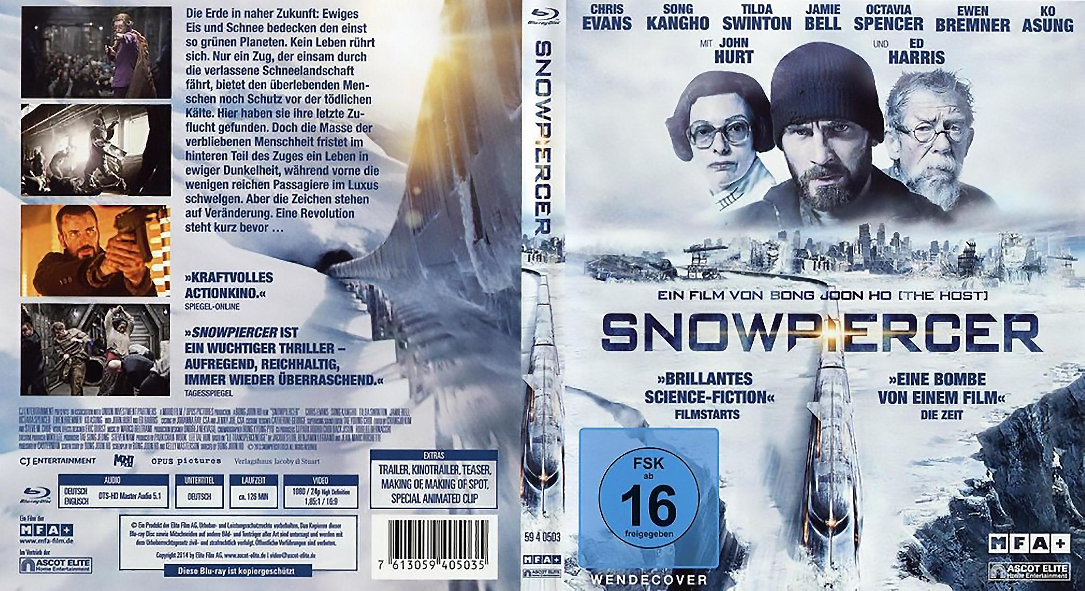 COVERS BOX SK ::: Snowpiercer (2014) (Blu-Ray) - high