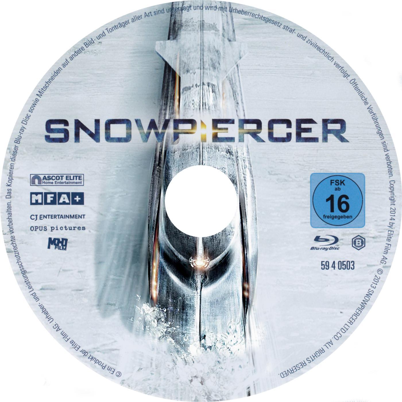 COVERS BOX SK ::: Snowpiercer (2014) (Blu-Ray) - high