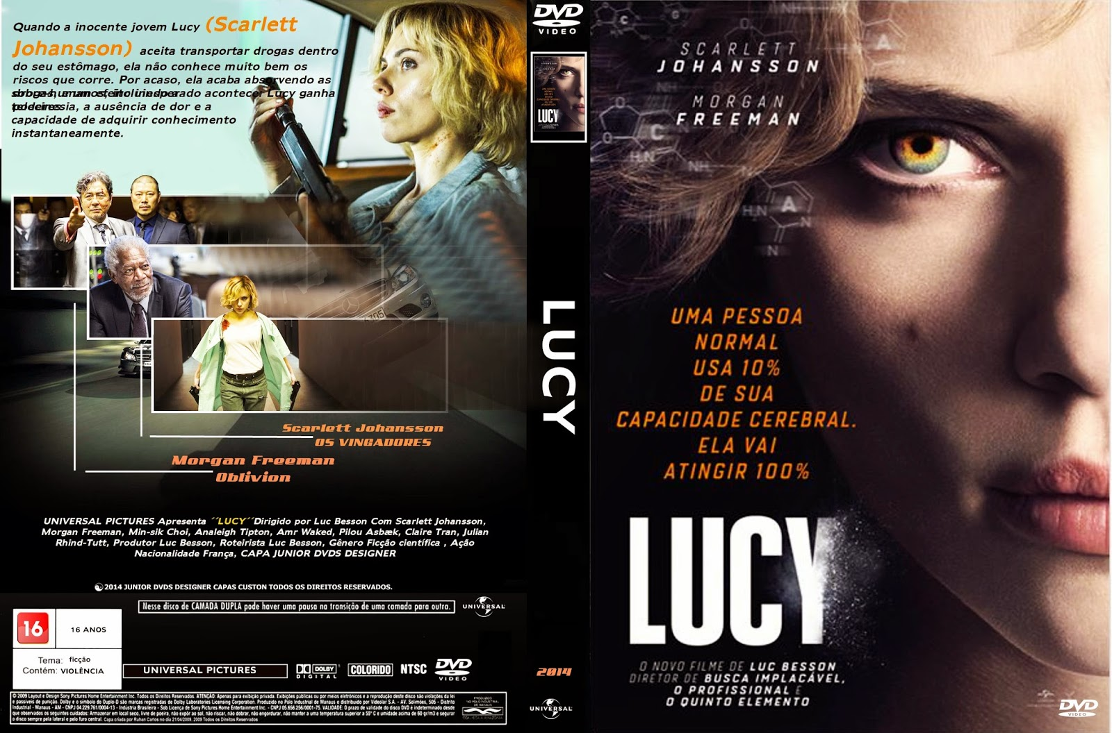 Lucy Movie 2014 Dvd Cover Wide Open Throttle Episode 1
