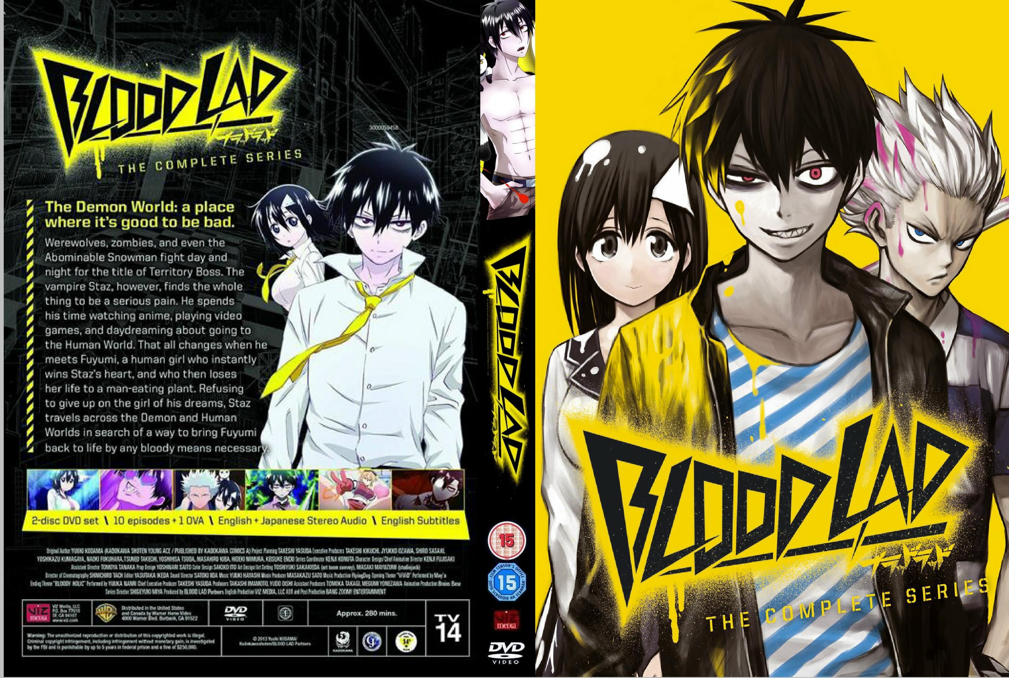 Covers box sk blood lad season 1 high quality dvd blueray
