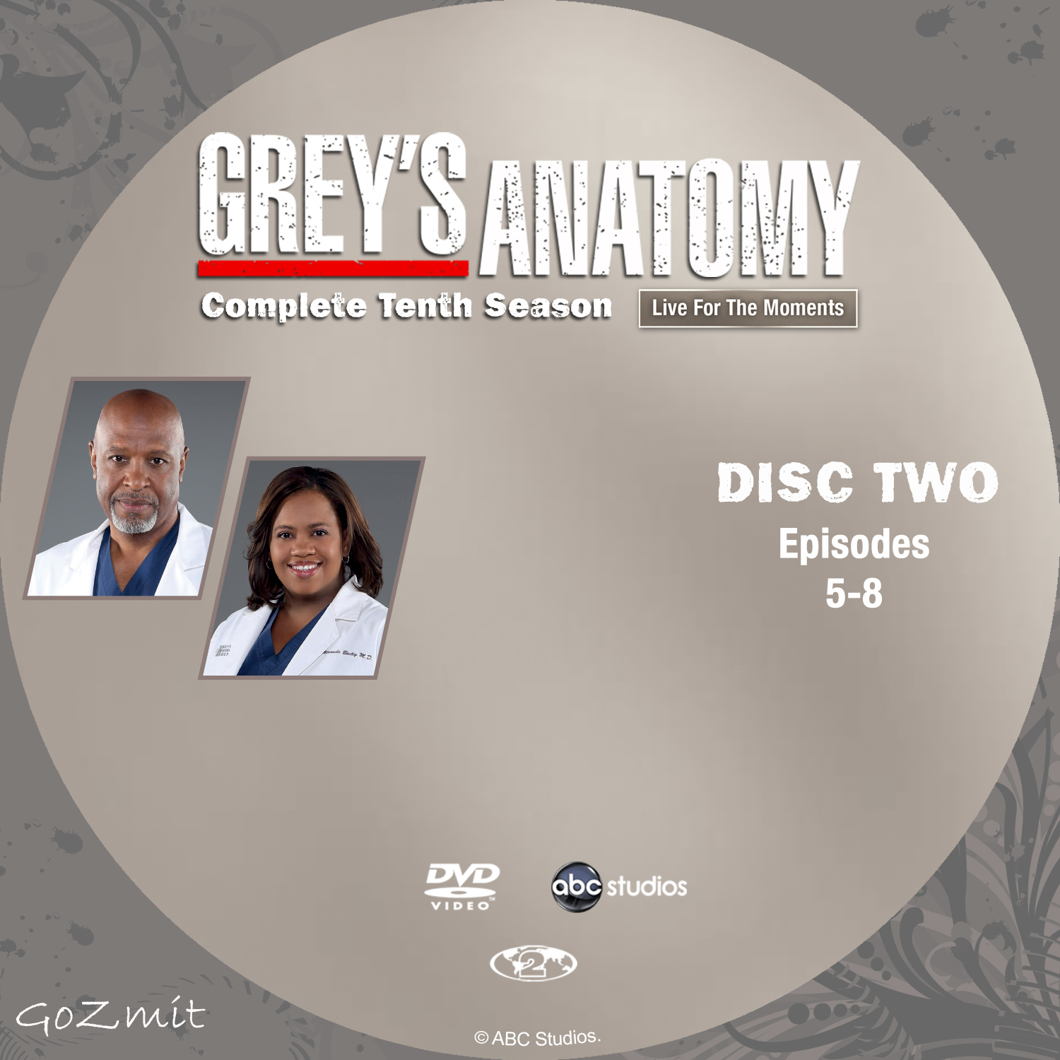 Coversx Greys Anatomy Season 10 Nordic High Quality