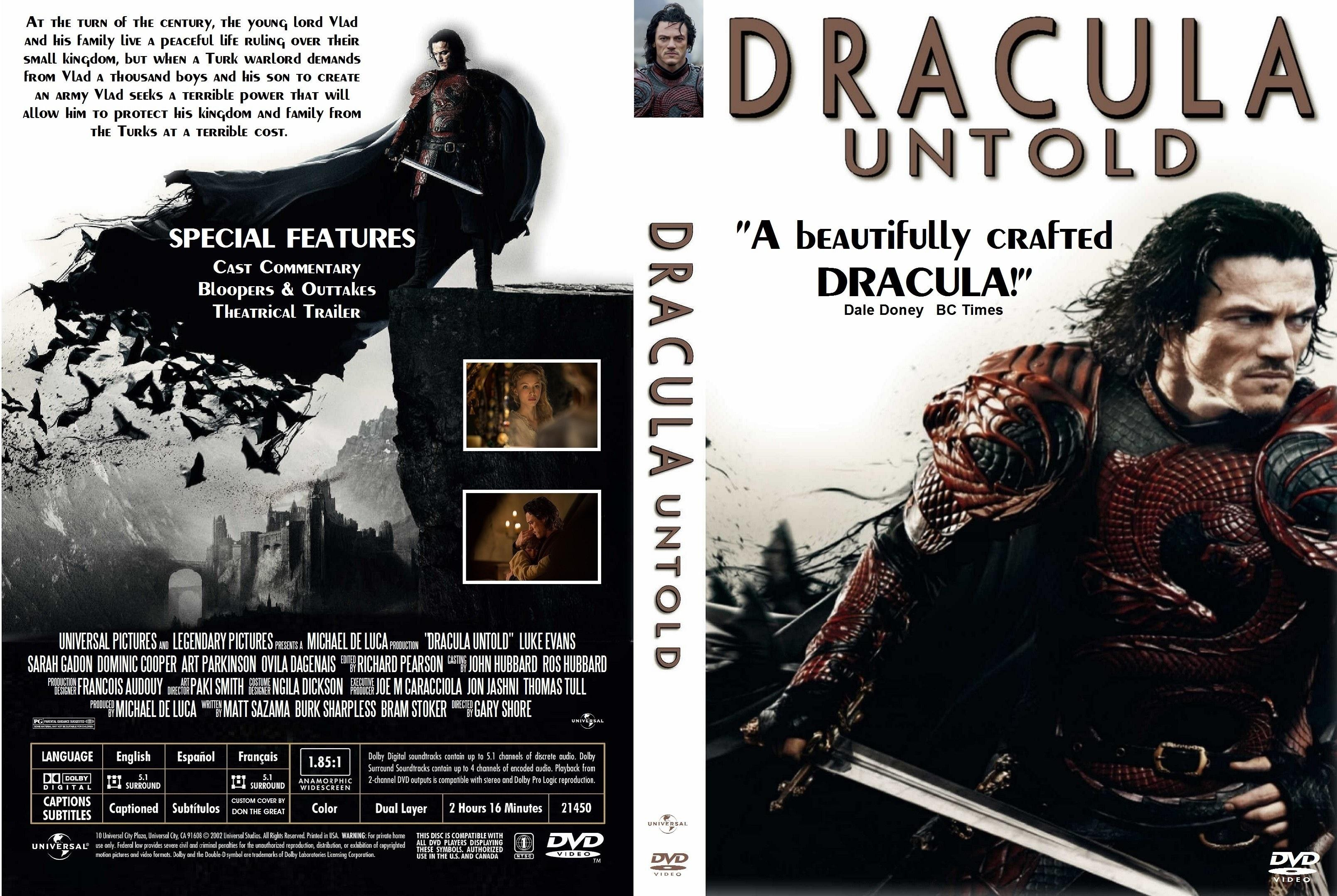 Covers Box Sk Dracula Untold 2014 High Quality Dvd Blueray Movie