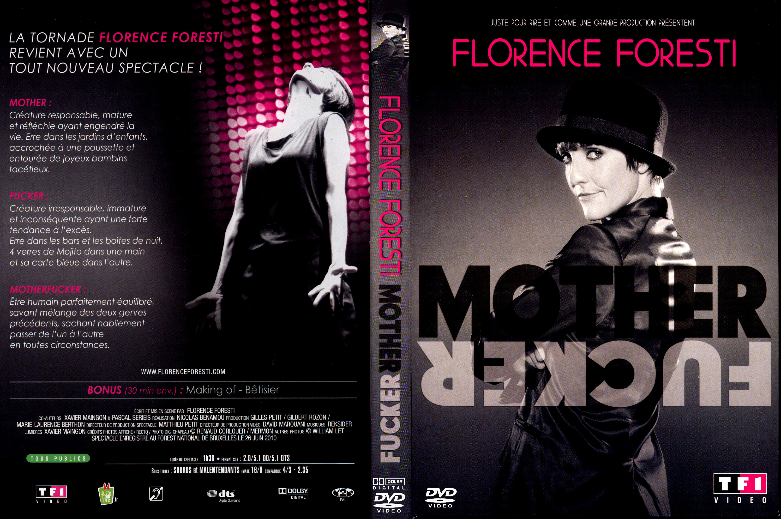 spectacle florence foresti mother