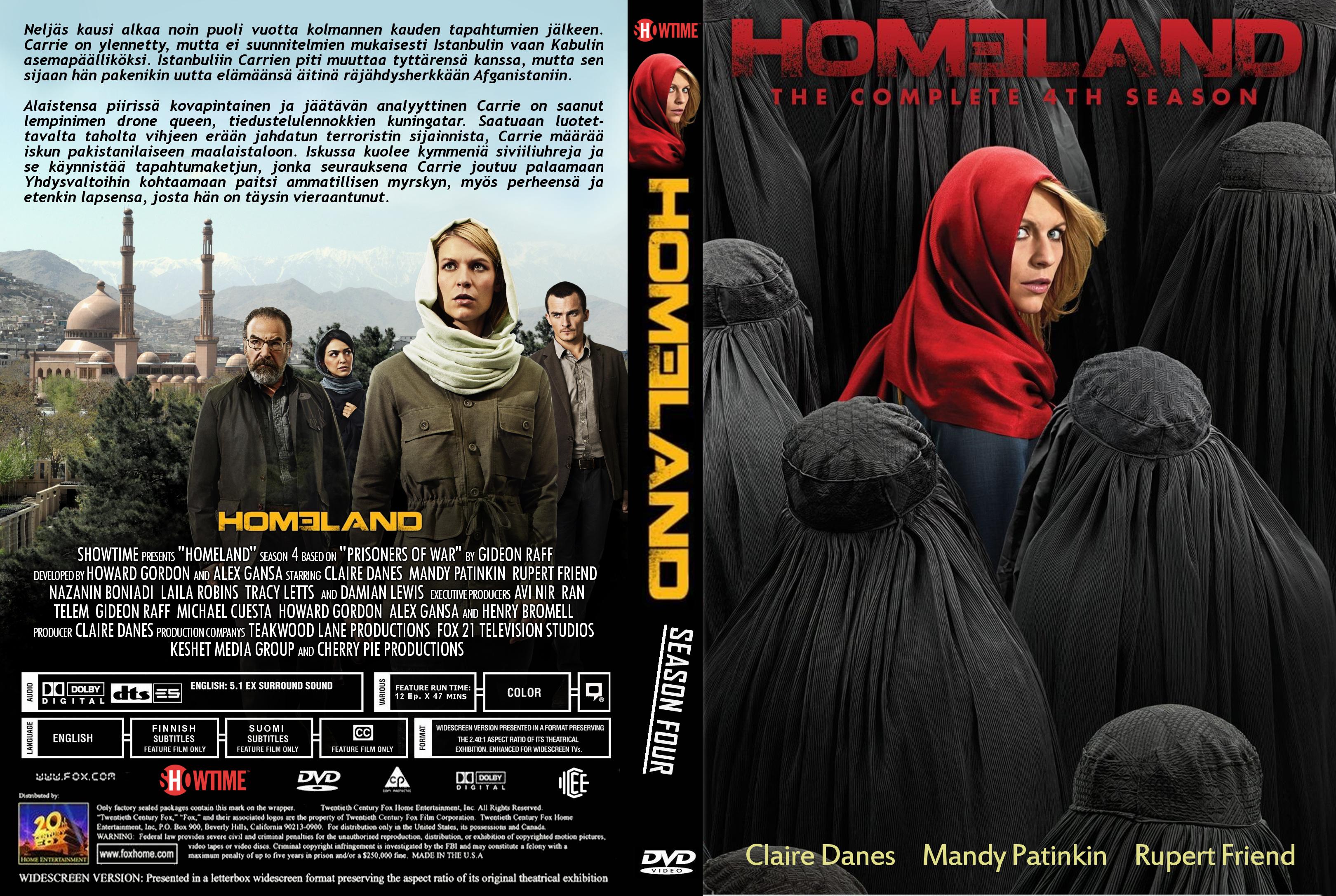 Homeland - Staffel 4 auf DVD online kaufen | SATURN