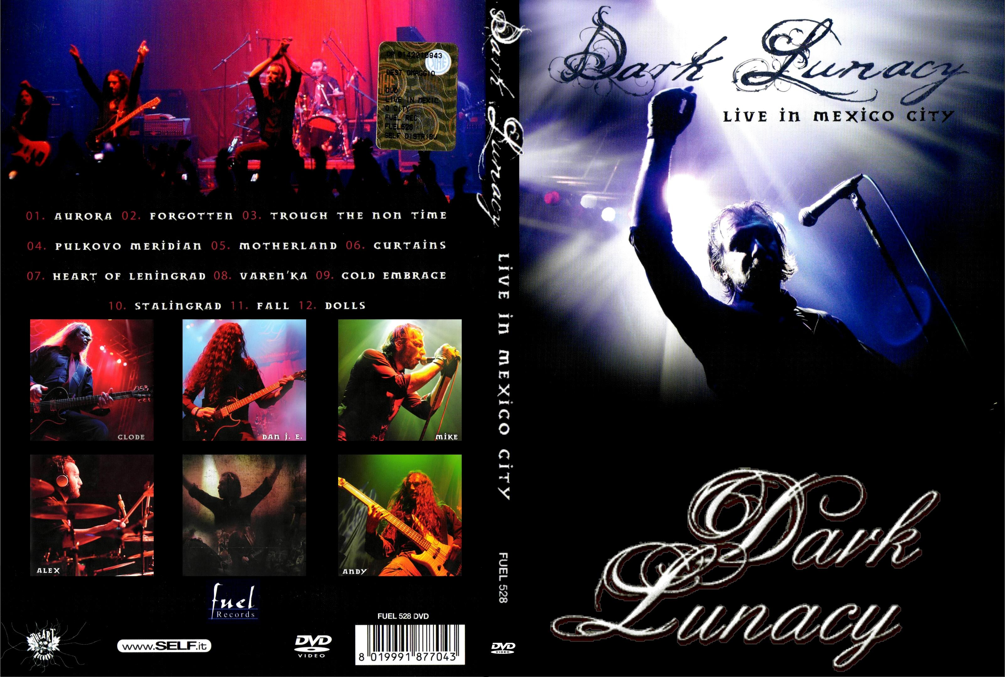 COVERS BOX SK ::: Dark Lunacy - Live In Mexico City (2013) - high
