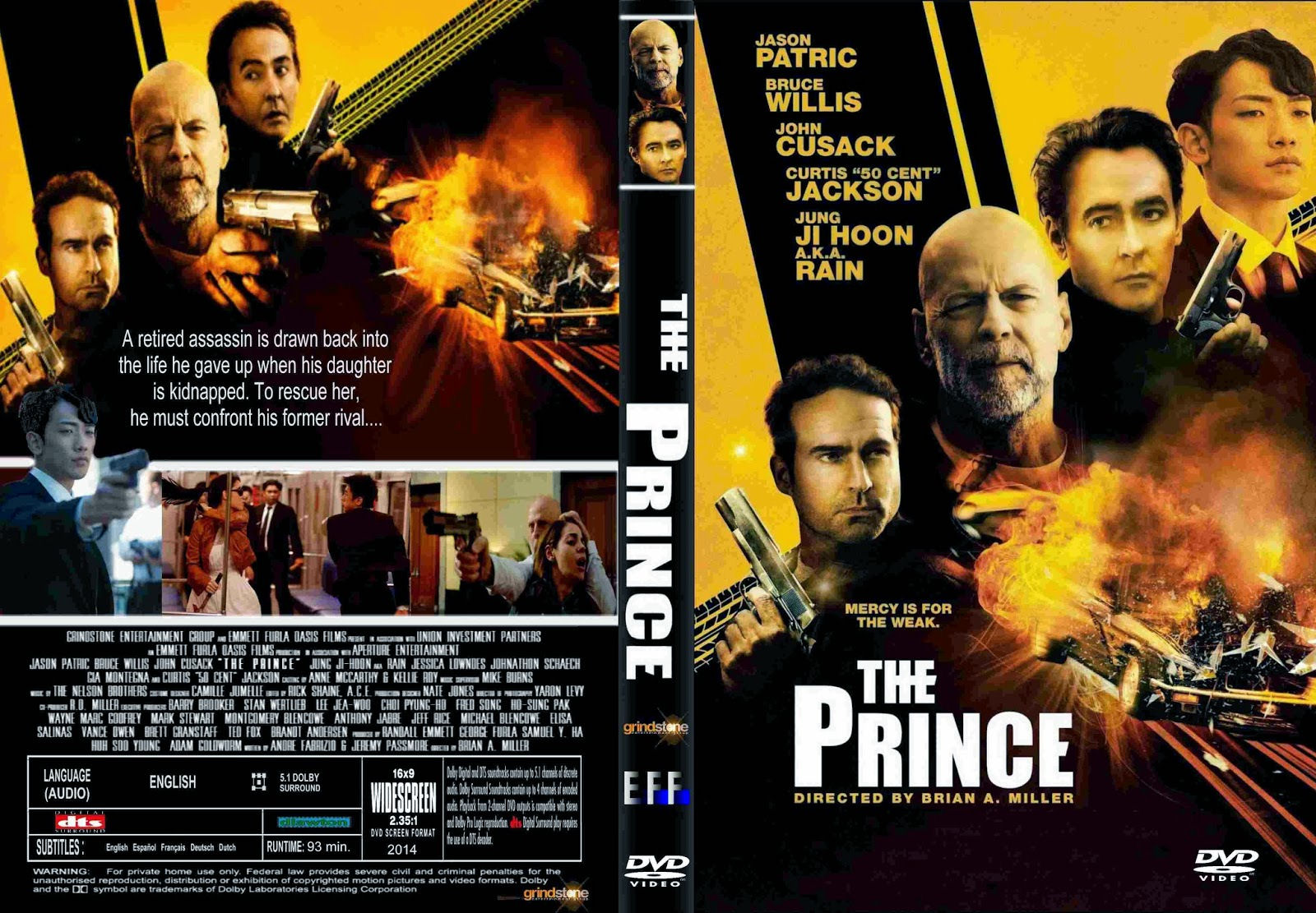 COVERS BOX SK ::: The prince (2014) - high quality DVD / Blueray / Movie