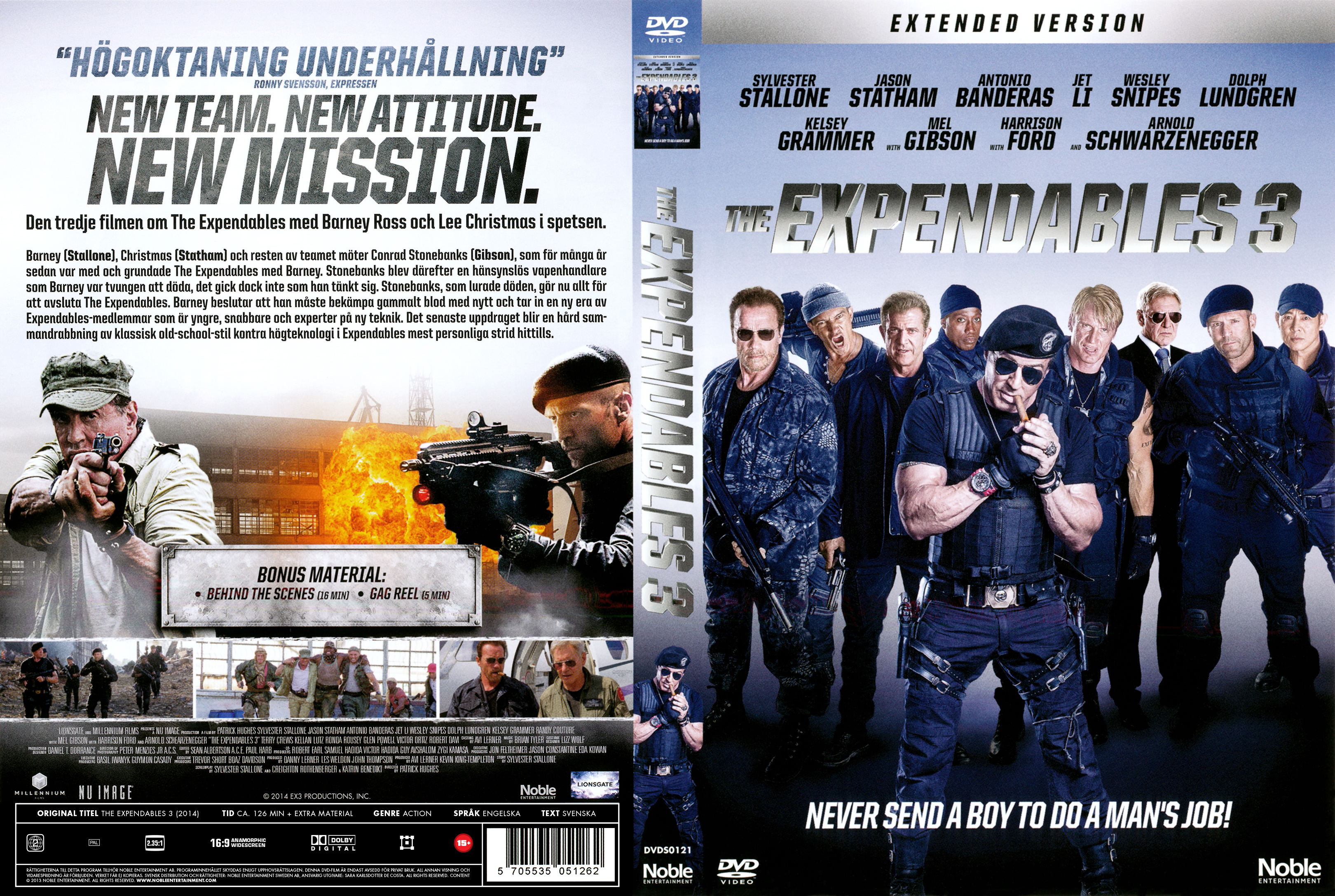 COVERS BOX SK ::: The Expendables 3 - Extended version
