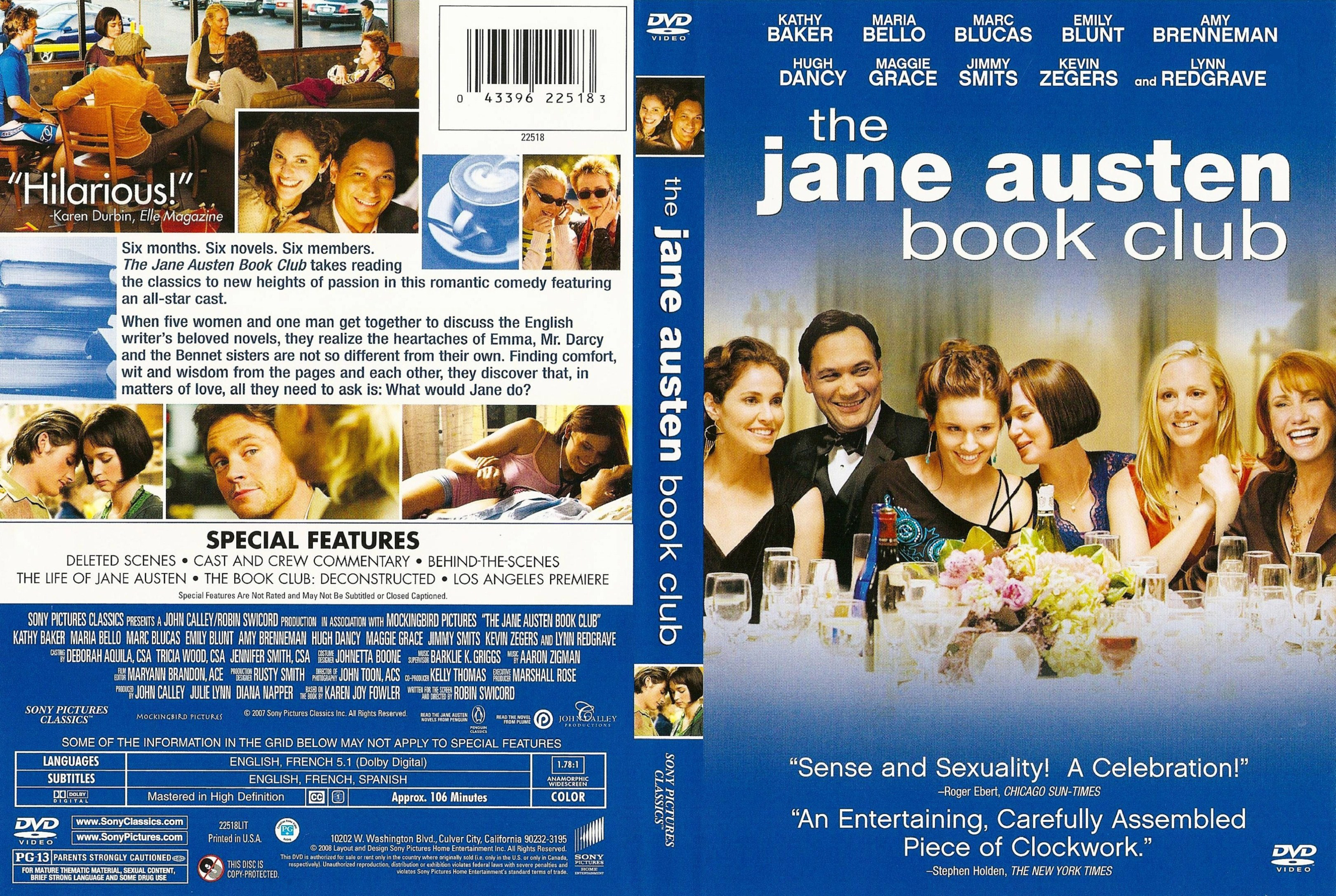 the jane austen book club full movie