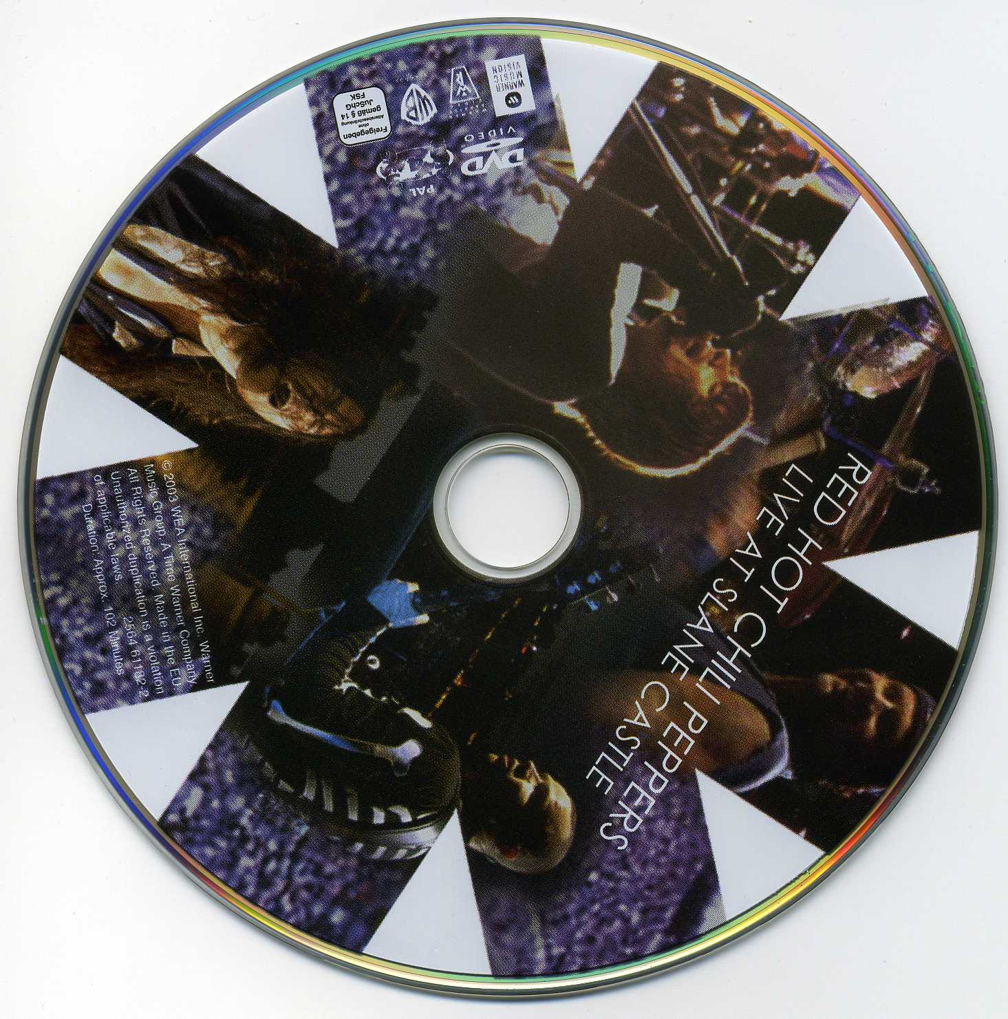red hot chili peppers live at slane castle cd