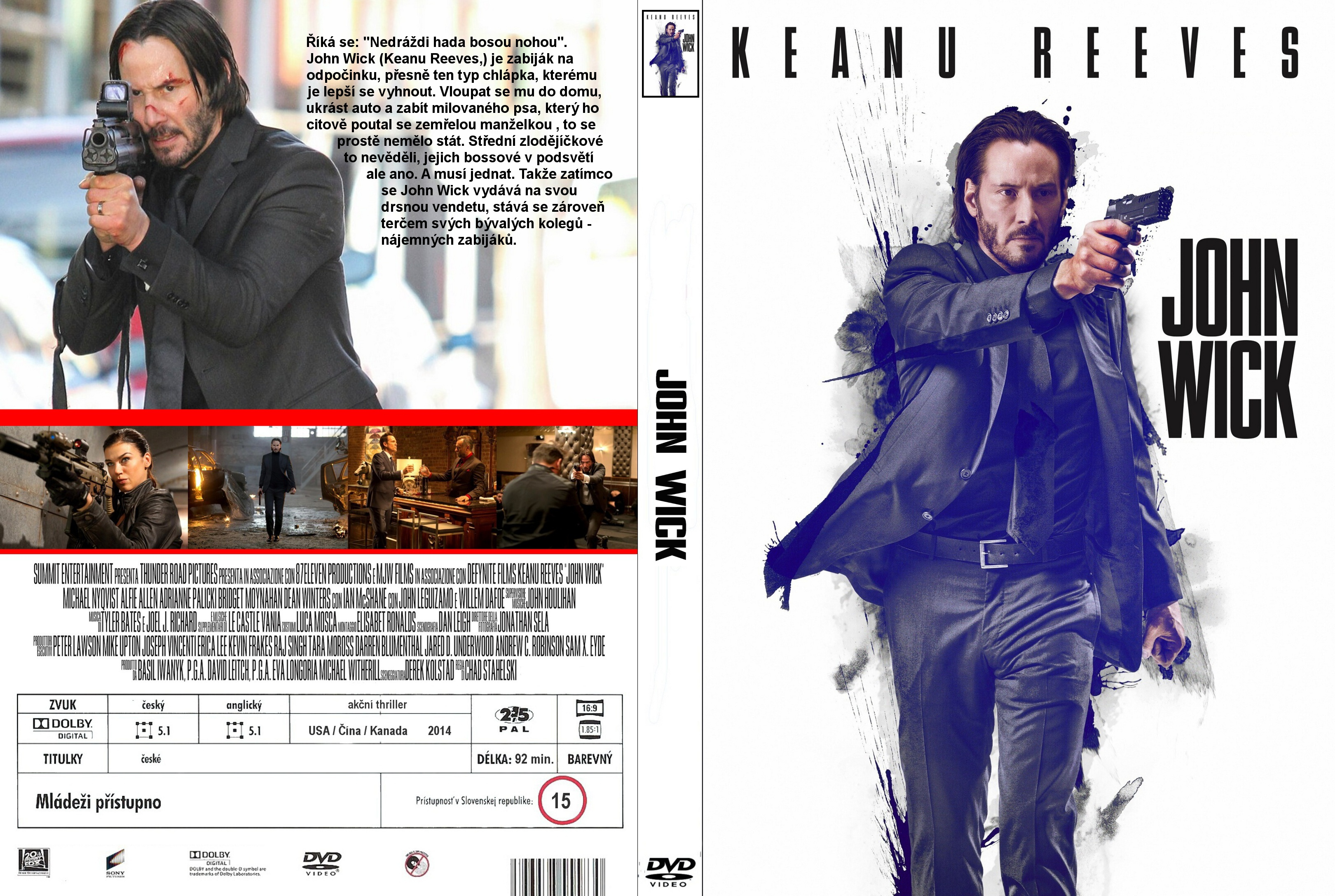 Covers Box Sk John Wick 2014 High Quality Dvd