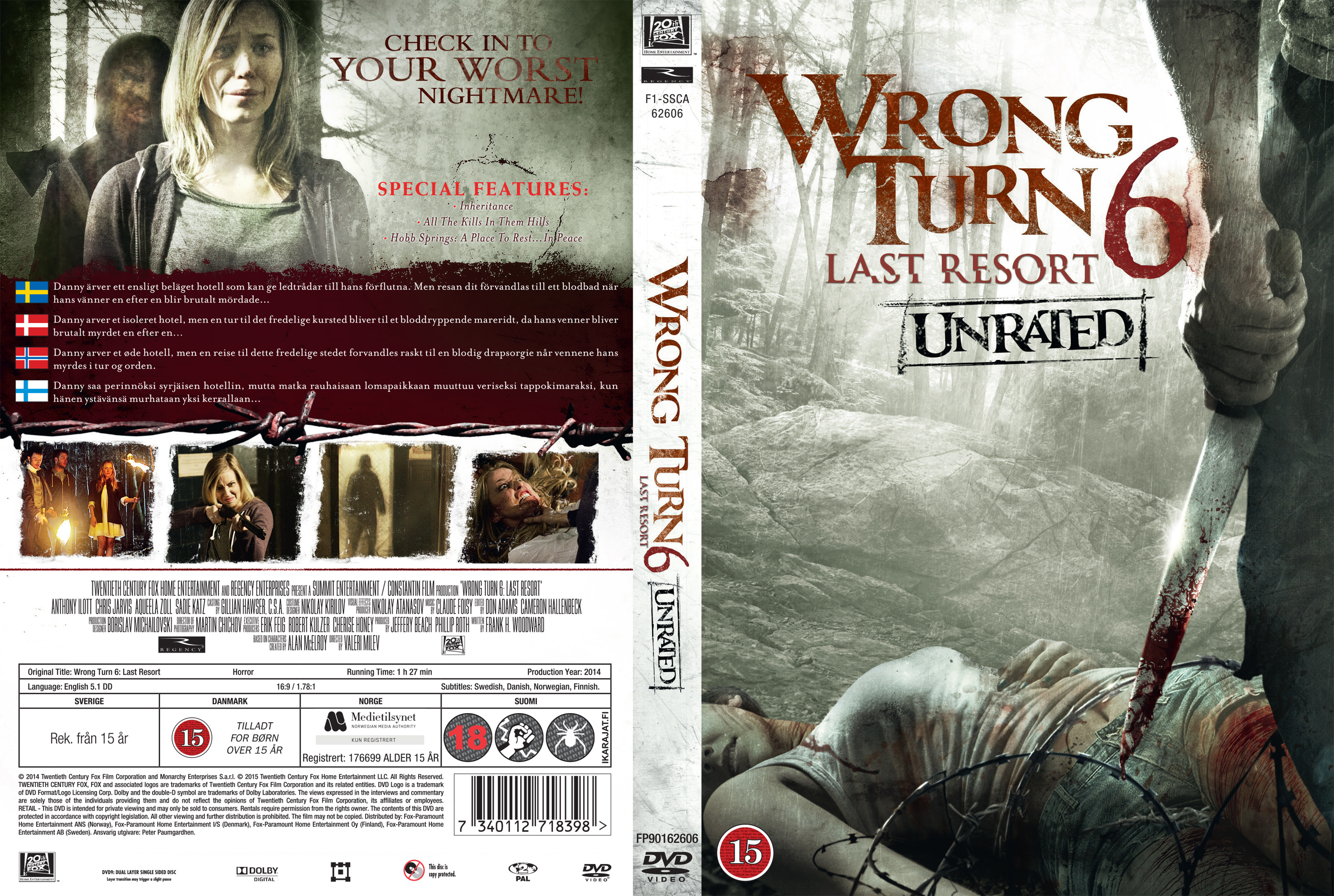 COVERS BOX SK ::: Wrong Turn 6 Last Resort (Nordic) - high