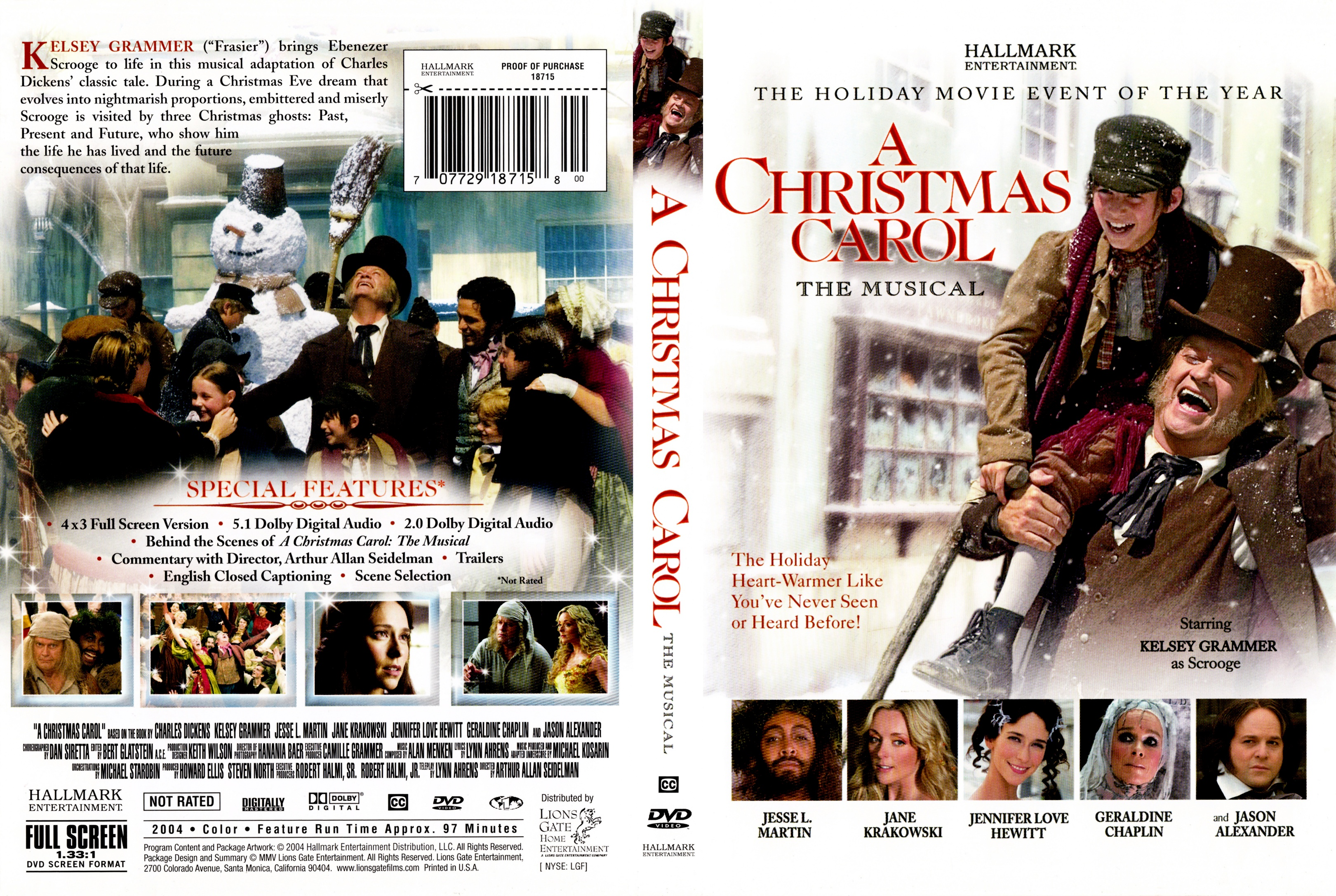 A christmas carol the musical movie