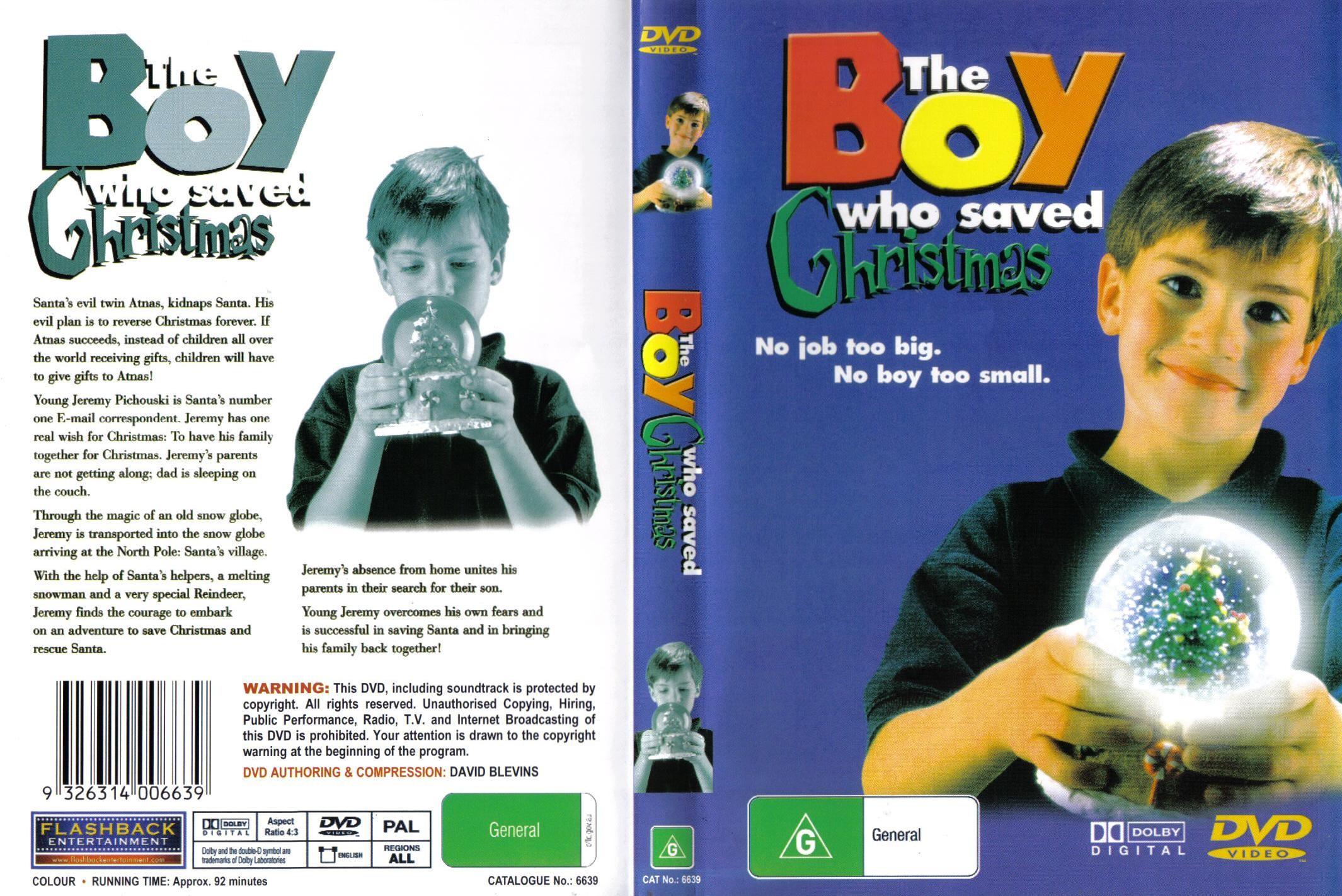 COVERS.BOX.SK ::: The Boy Who Saved Christmas (1998) - high ...