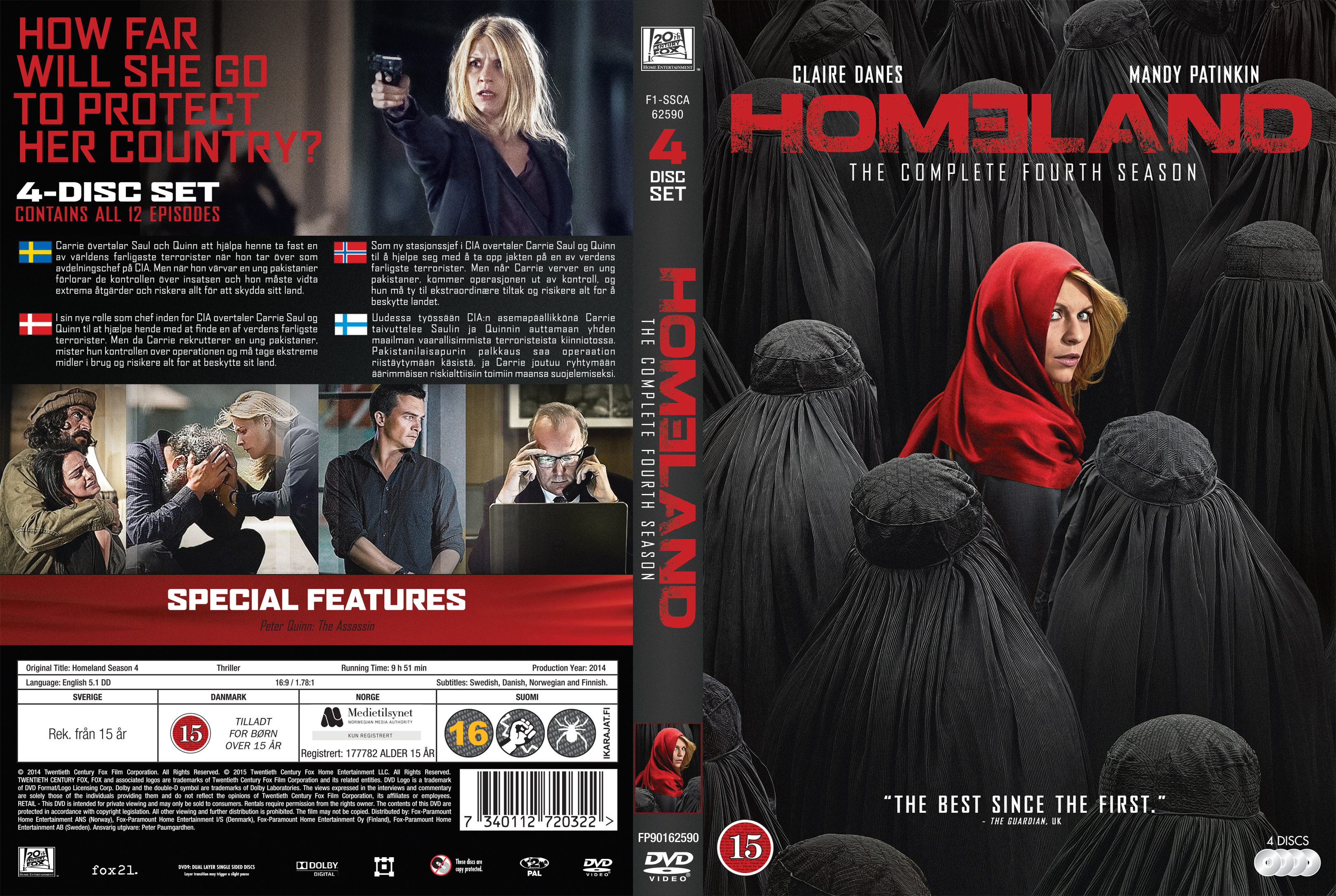 Release Homeland Season 4 | Free Pictures Finder