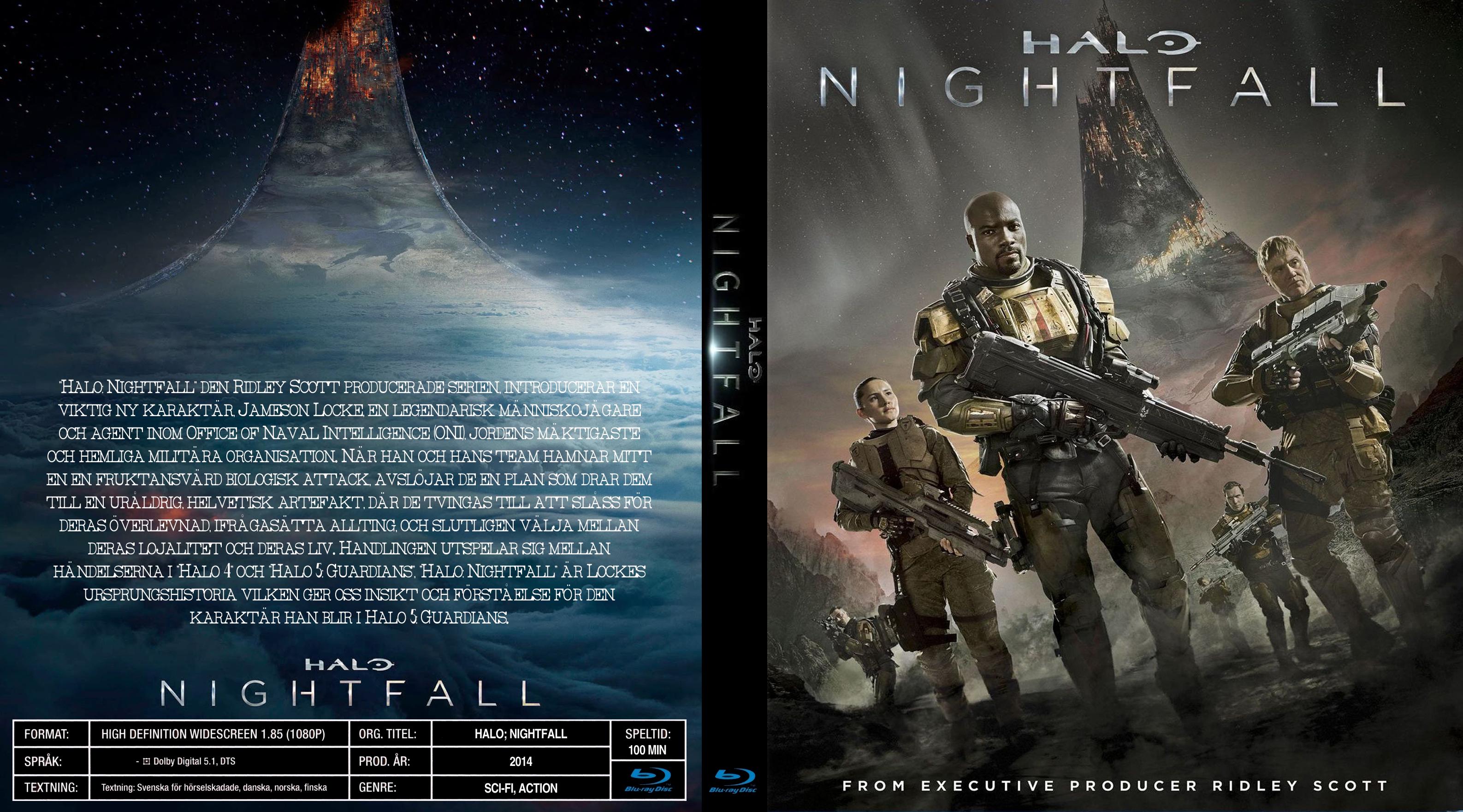 Covers Box Sk Halo Nightfall 2014 Bluray High Quality Dvd Blueray Movie