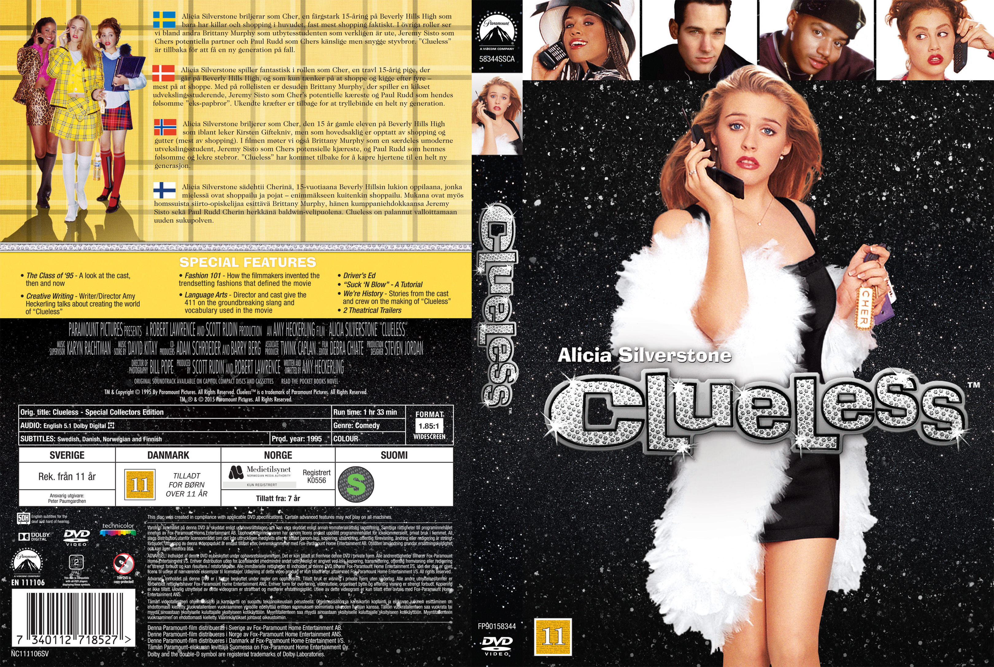 COVERS BOX SK ::: Clueless (Nordic) - high quality DVD