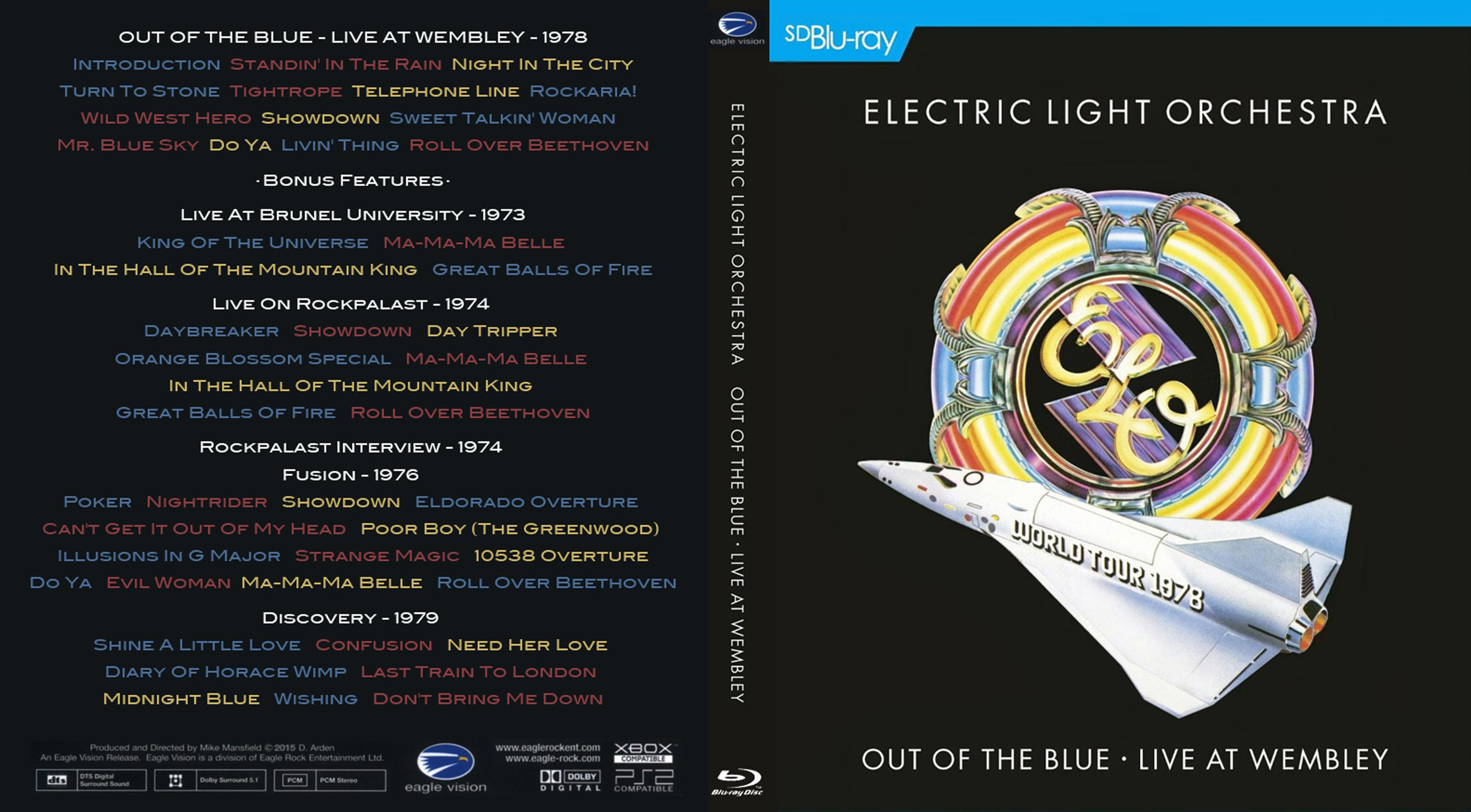 Out of the Blue-Live at Wembley