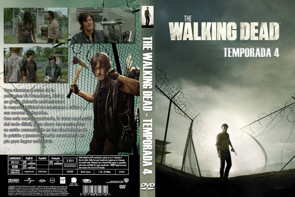 COVERS.BOX.SK ::: The Walking Dead S04 [2013] - high quality DVD ...