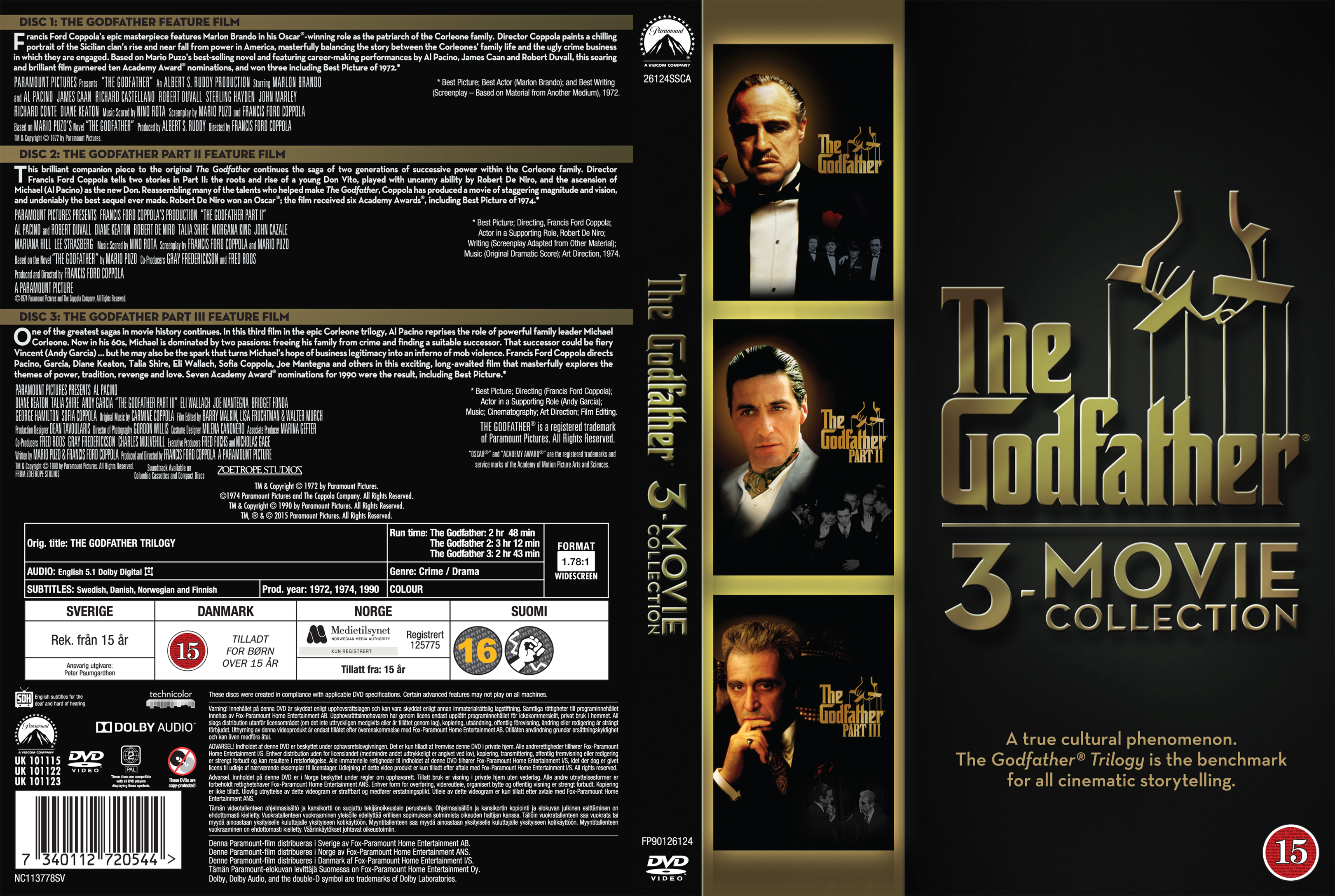 a comparison of the crime drama films goodfellas and the godfather Best movie genres the greatest crime movies ever like the godfather and goodfellas viggo mortensen carlito's way is a 1993 american crime drama film.
