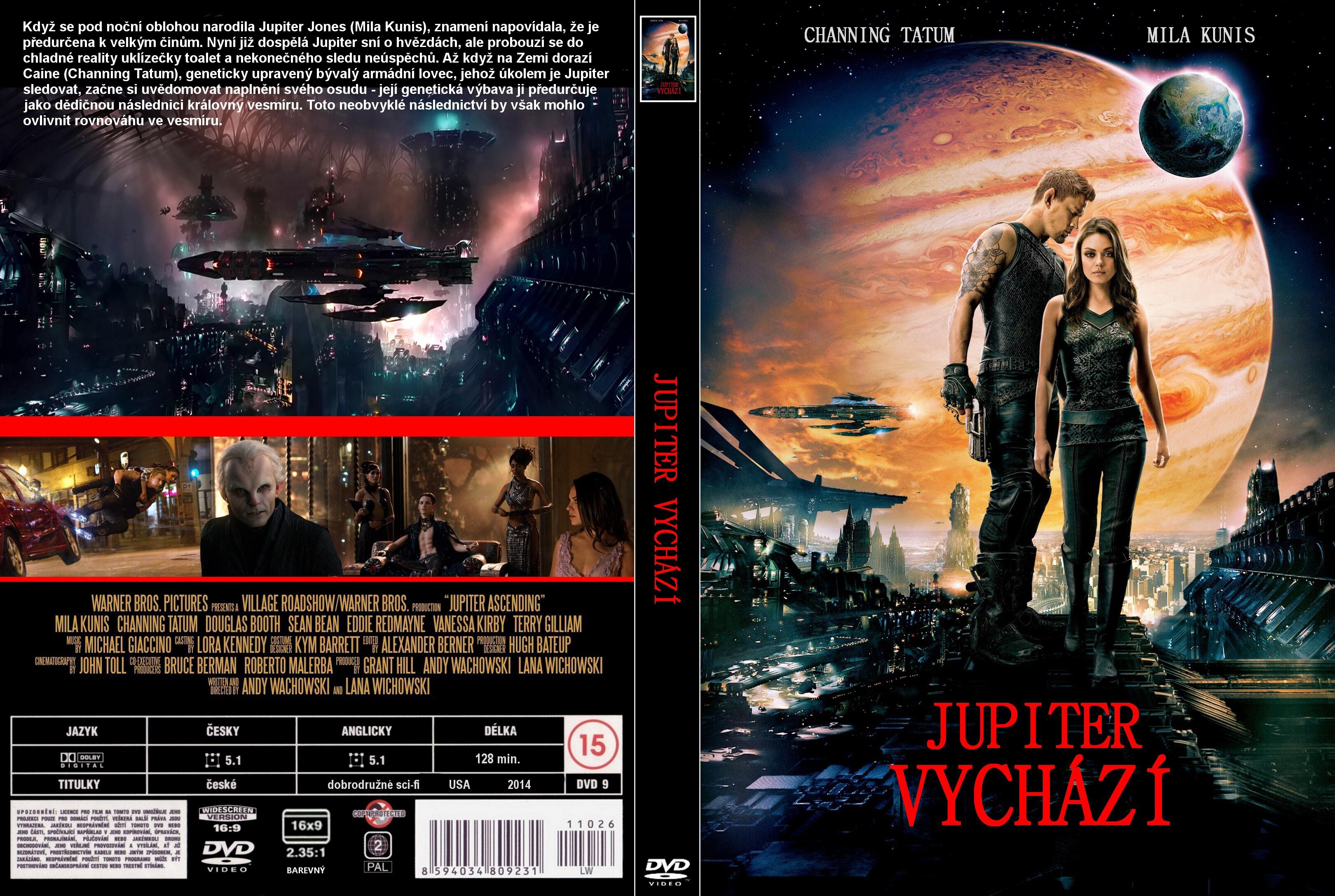 Covers Box Sk Jupiter Ascending 2015 High Quality Dvd Blueray Movie