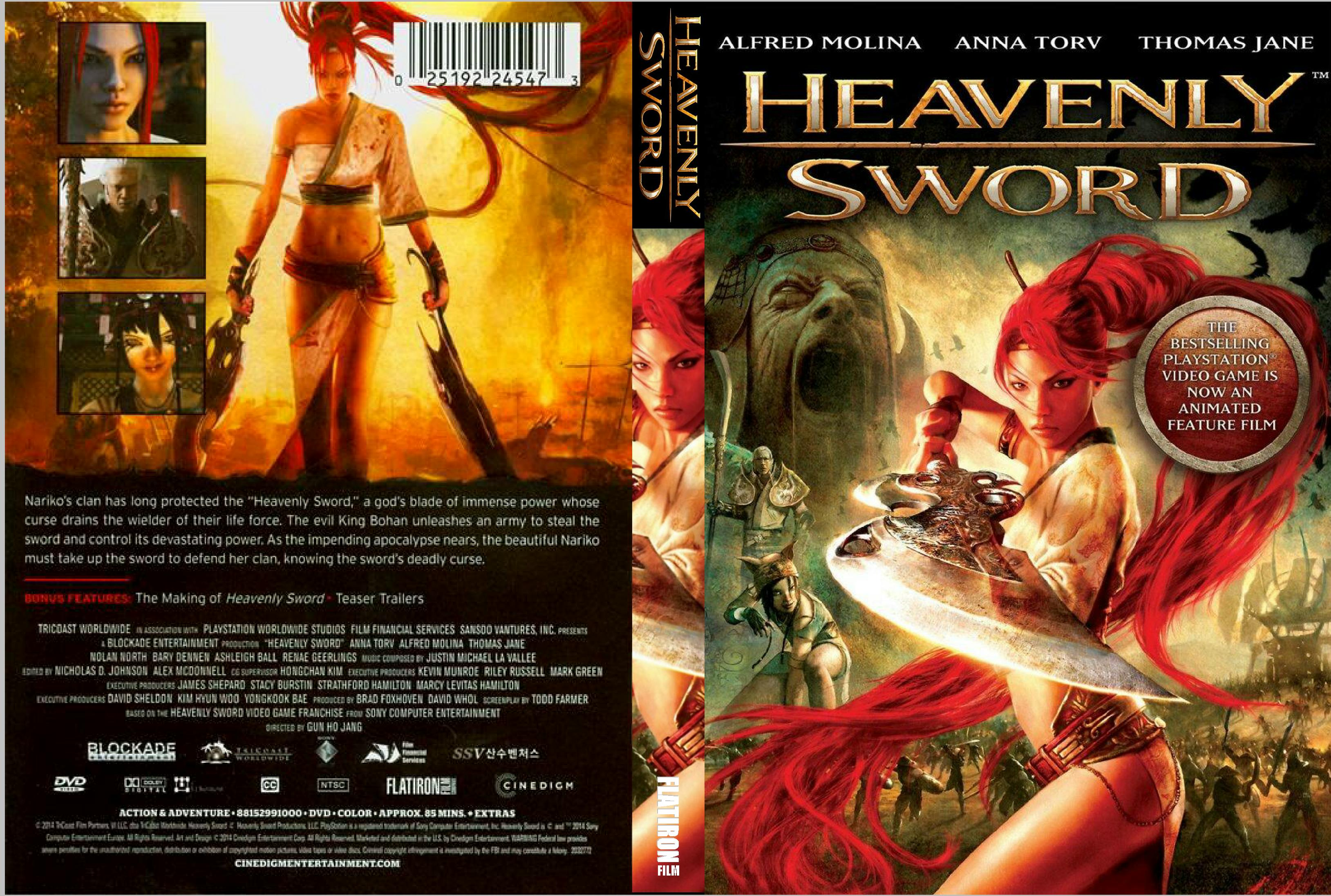 heavenly sword movie download