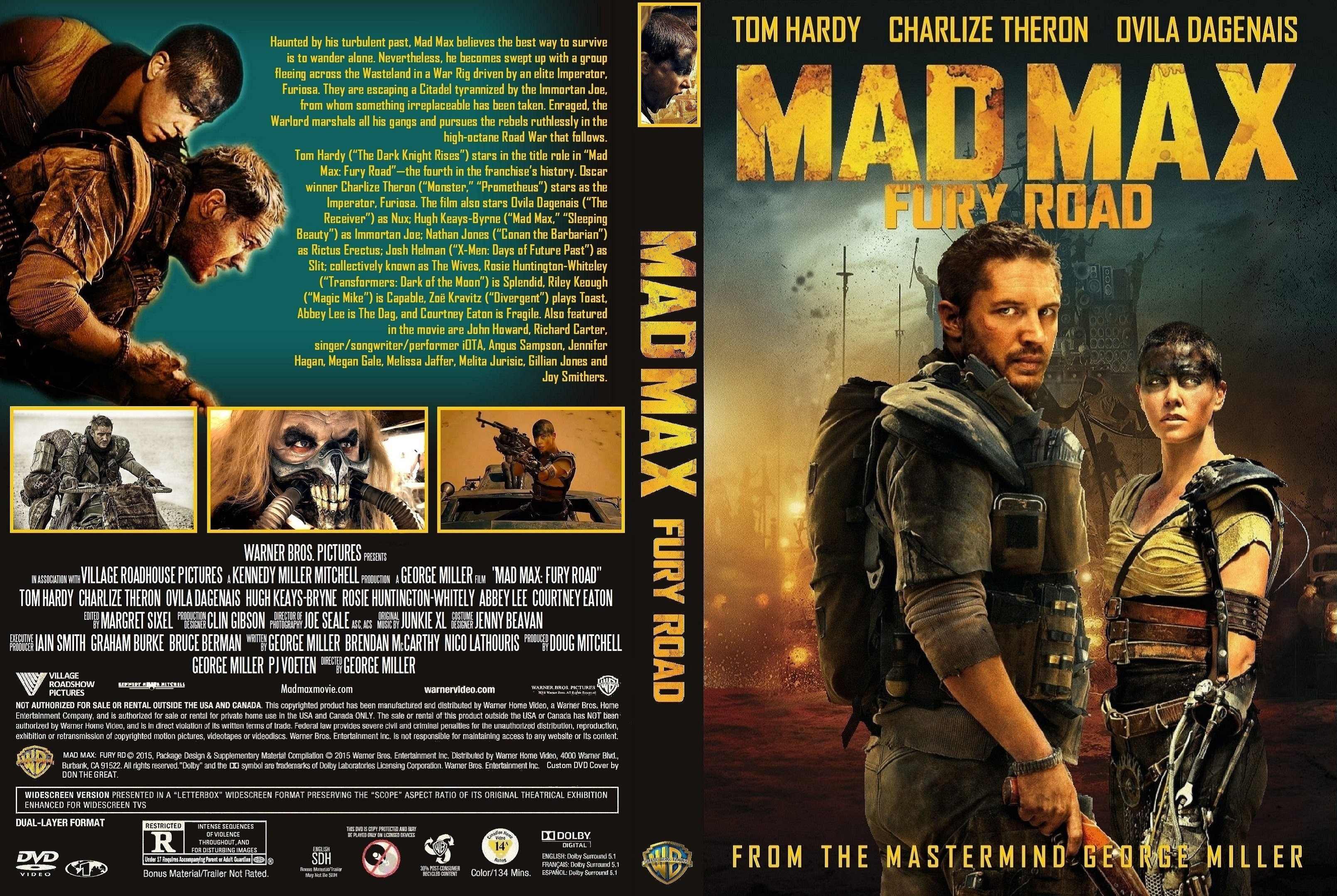 mad max fury road dvd cover vincent laforet short film