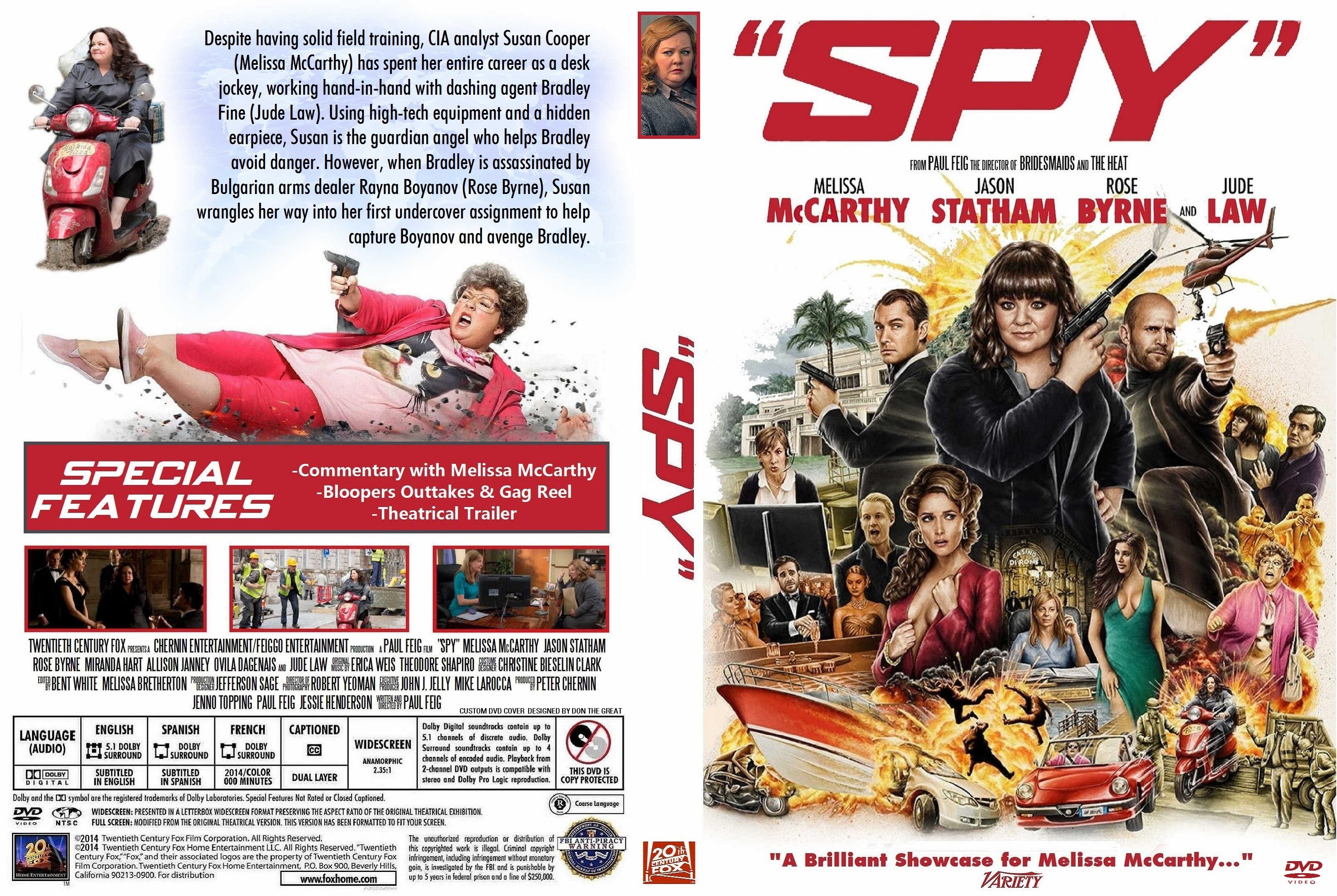 Covers Box Sk Spy 2015 High Quality Dvd Blueray Movie