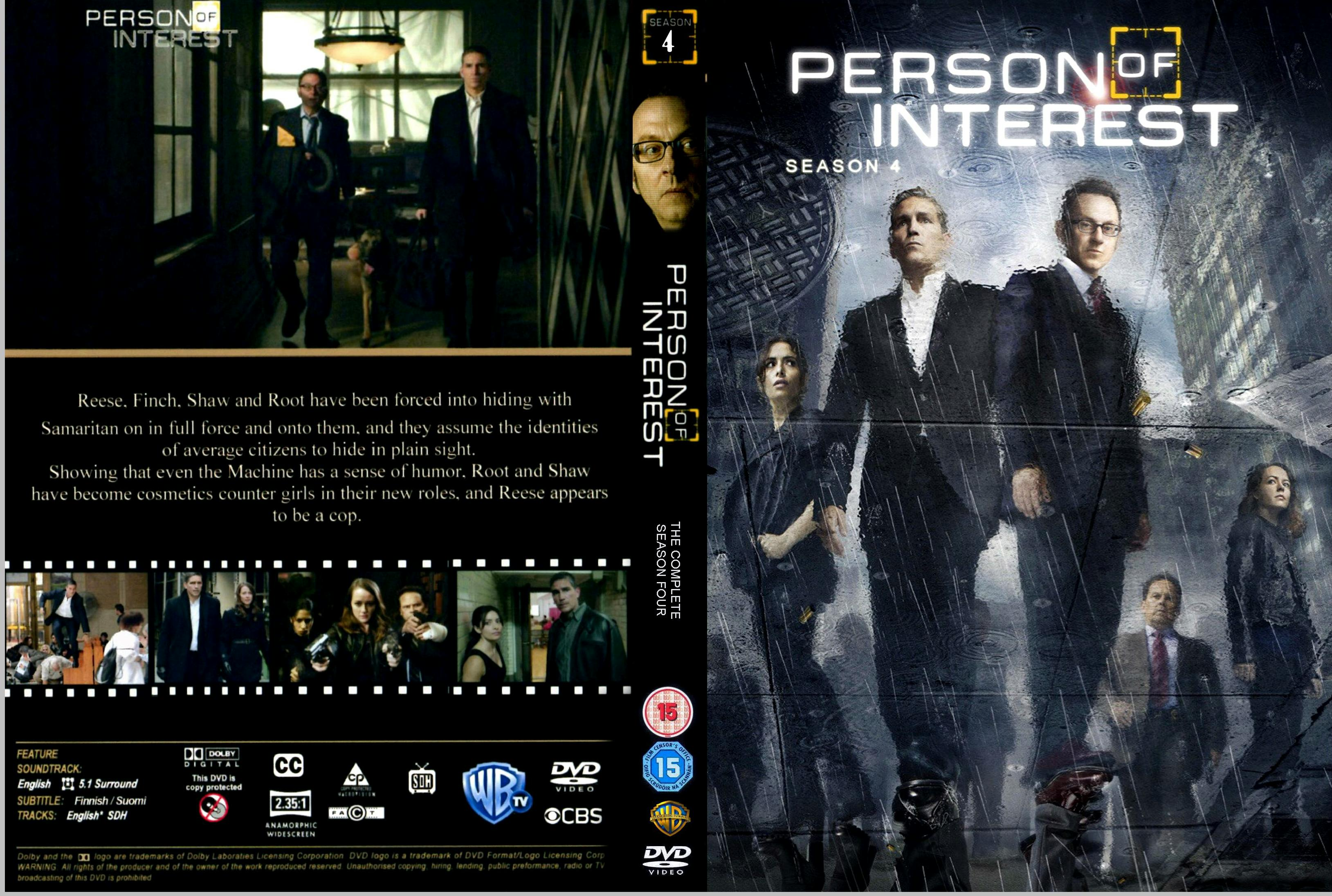 COVERS BOX SK ::: person of interest - season 4 (2014