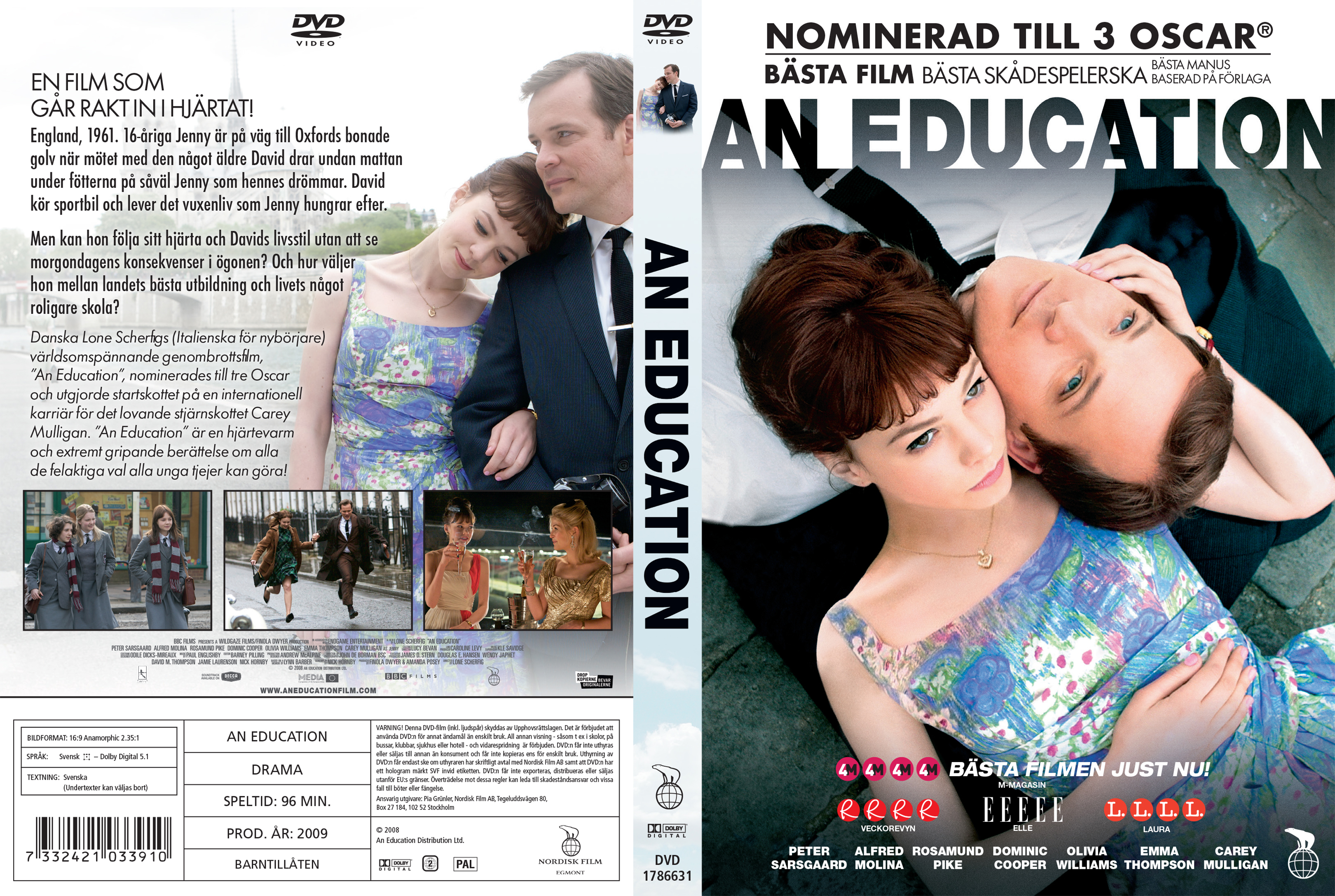 Covers Box Sk An Education 2009 High Quality Dvd Blueray
