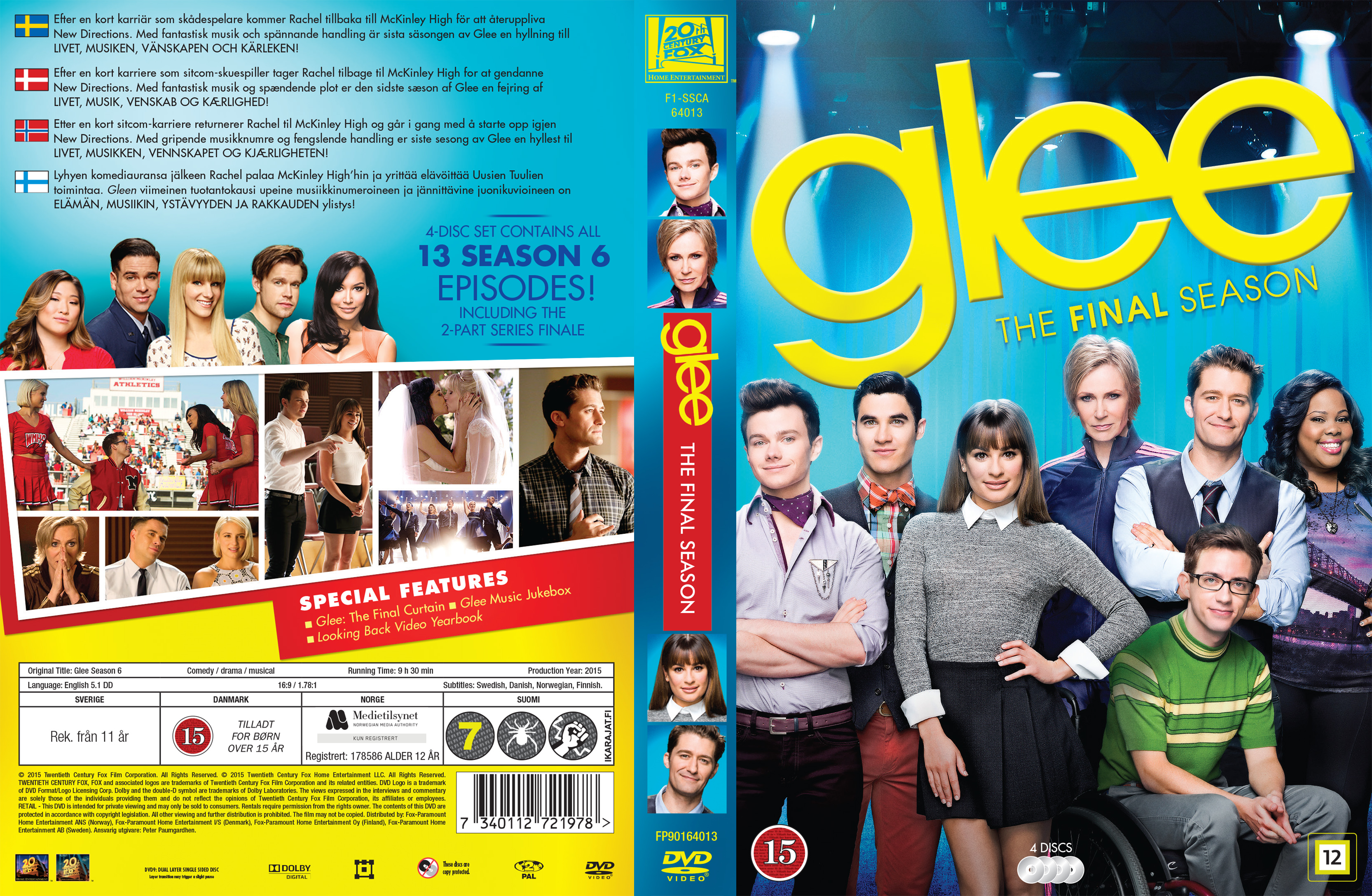 Glee season 5 dvd release date in Australia