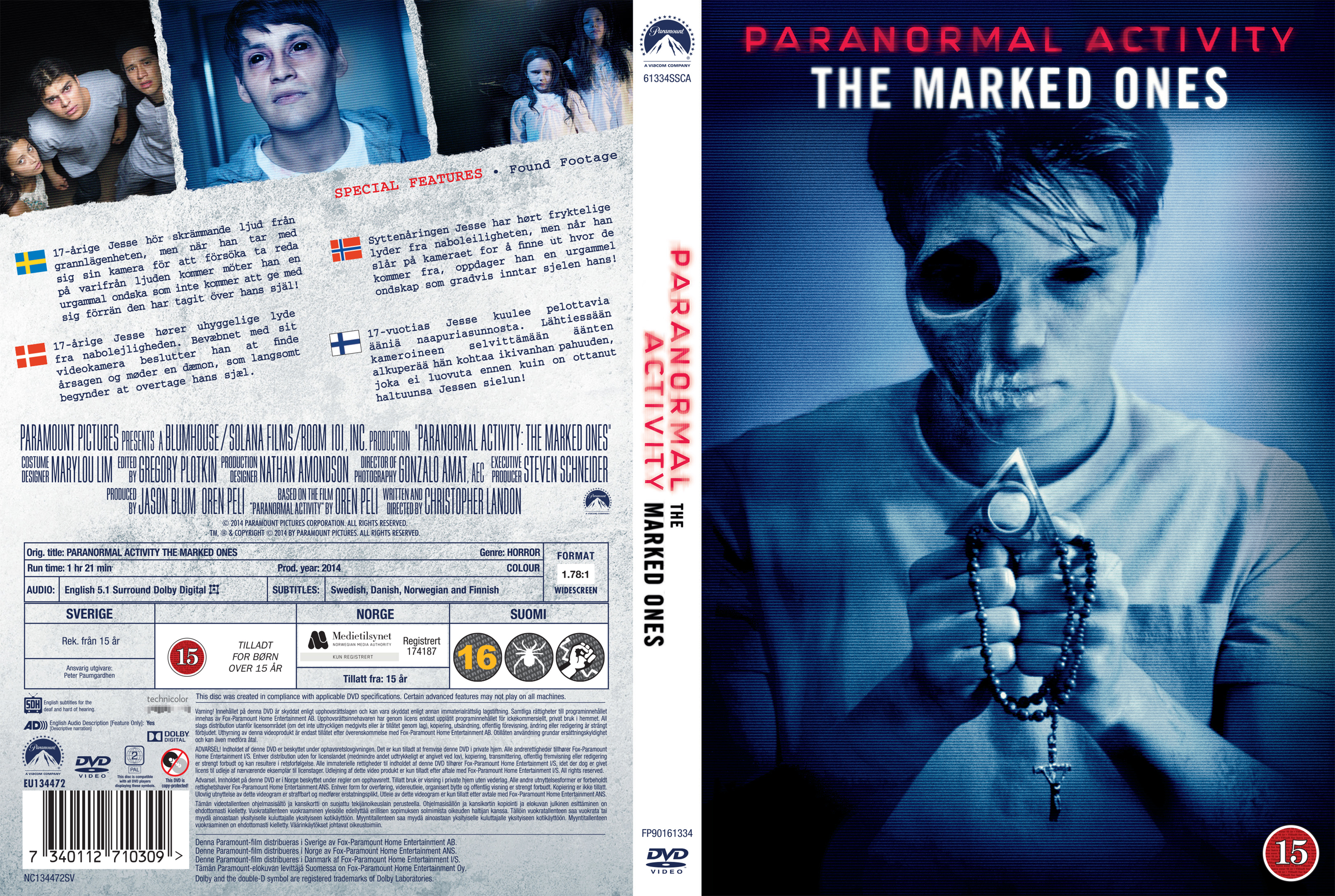 paranormal activity marked ones dvd cover - photo #8