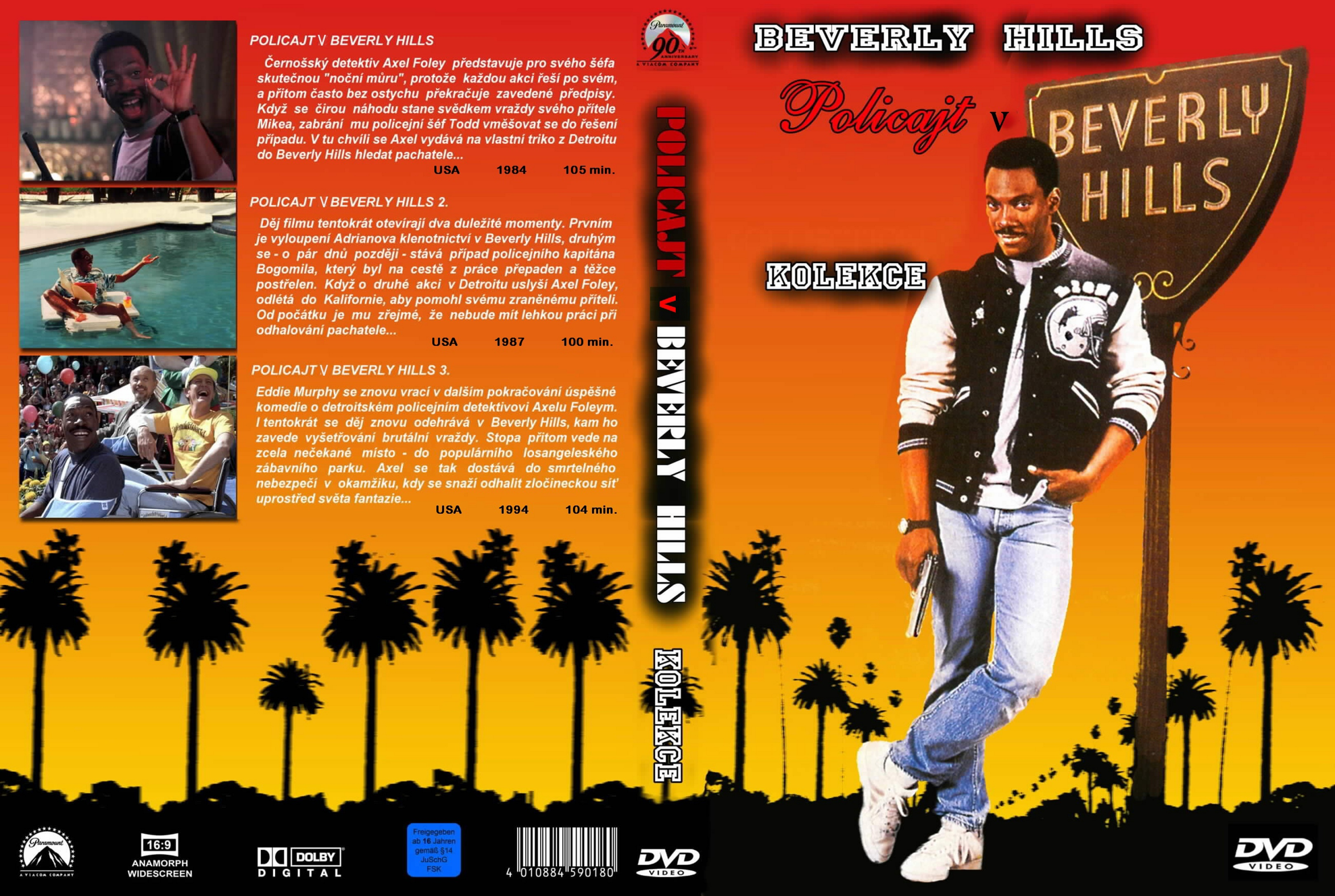 coversboxsk beverly hills cop 13 high quality dvd